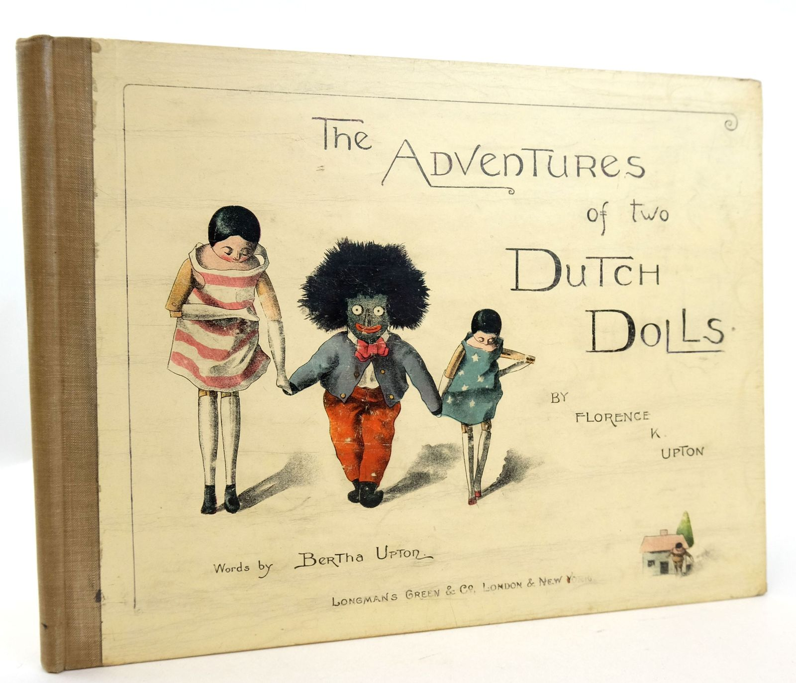 Photo of THE ADVENTURES OF TWO DUTCH DOLLS AND A GOLLIWOGG written by Upton, Bertha illustrated by Upton, Florence published by Longmans, Green & Co. (STOCK CODE: 1819856)  for sale by Stella & Rose's Books