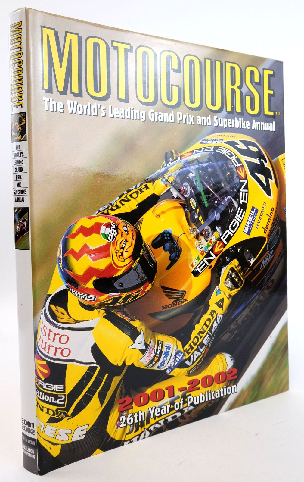Photo of MOTOCOURSE 2001-2002 published by Hazleton Publishing (STOCK CODE: 1819875)  for sale by Stella & Rose's Books
