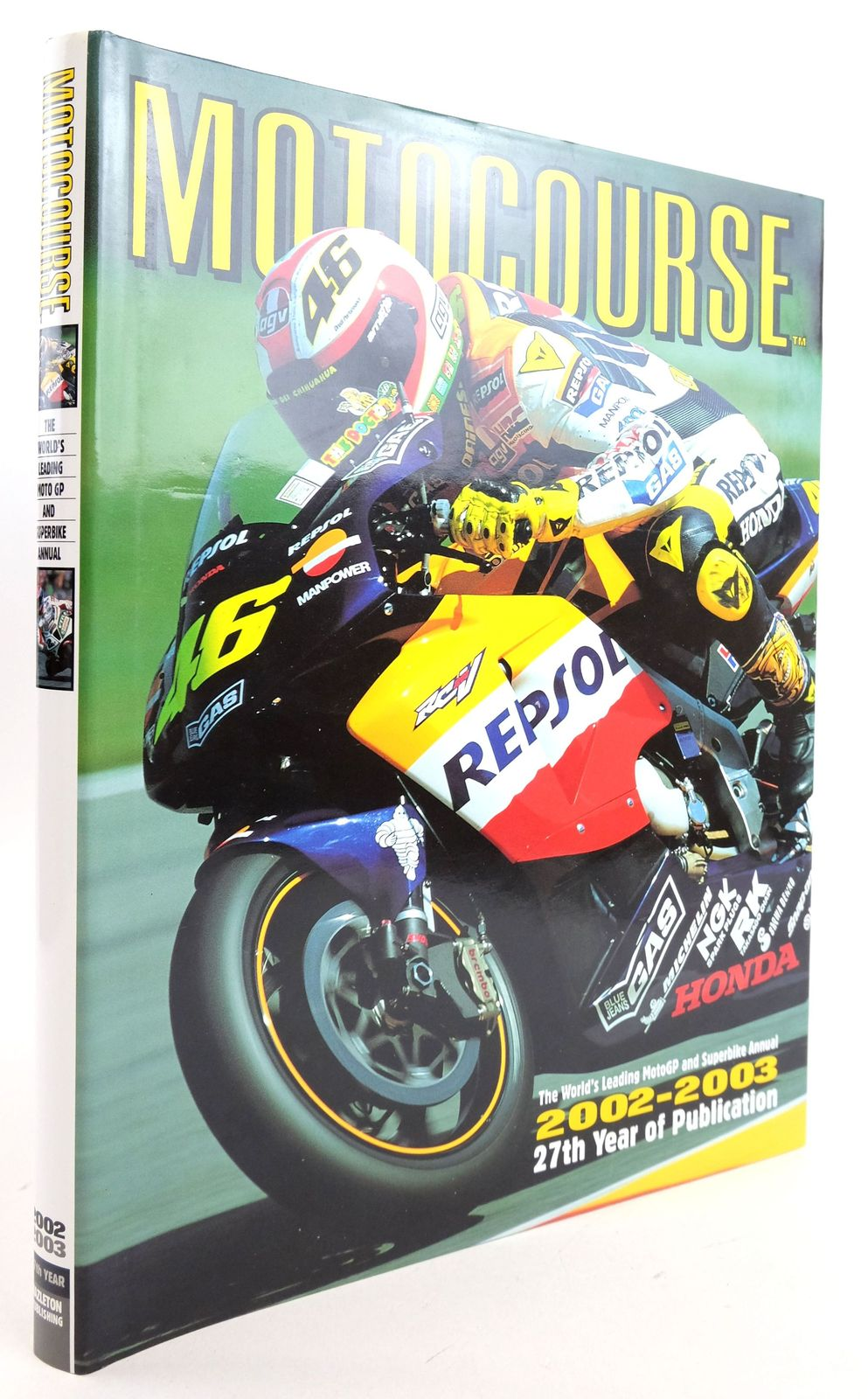Photo of MOTOCOURSE 2002-2003 published by Hazleton Publishing (STOCK CODE: 1819876)  for sale by Stella & Rose's Books