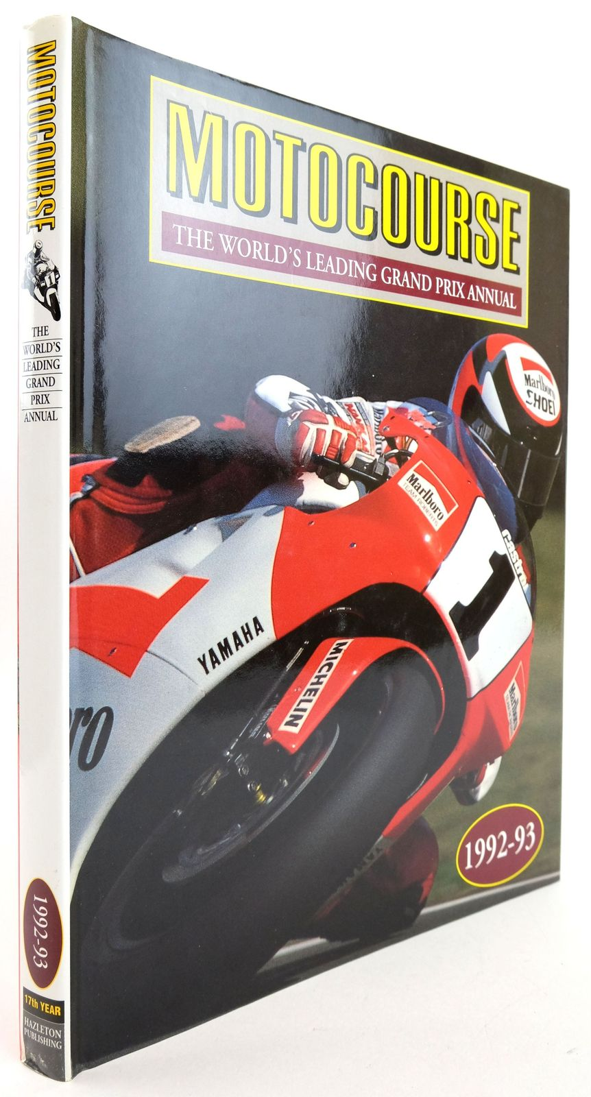 Photo of MOTOCOURSE 1992-93 published by Hazleton Publishing (STOCK CODE: 1819879)  for sale by Stella & Rose's Books