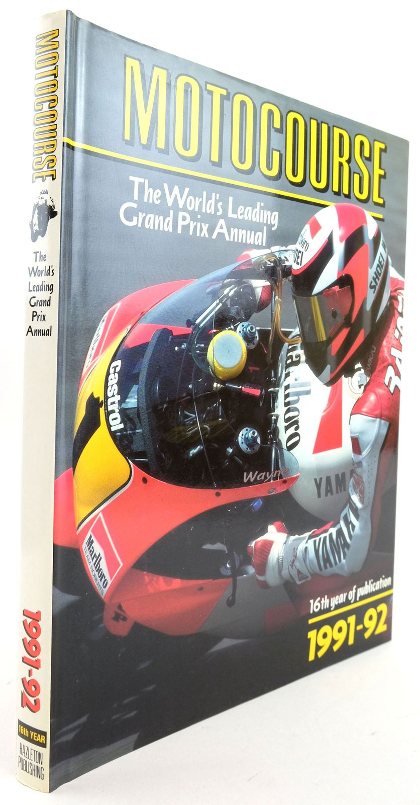 Photo of MOTOCOURSE 1991-92 published by Hazleton Publishing (STOCK CODE: 1819881)  for sale by Stella & Rose's Books