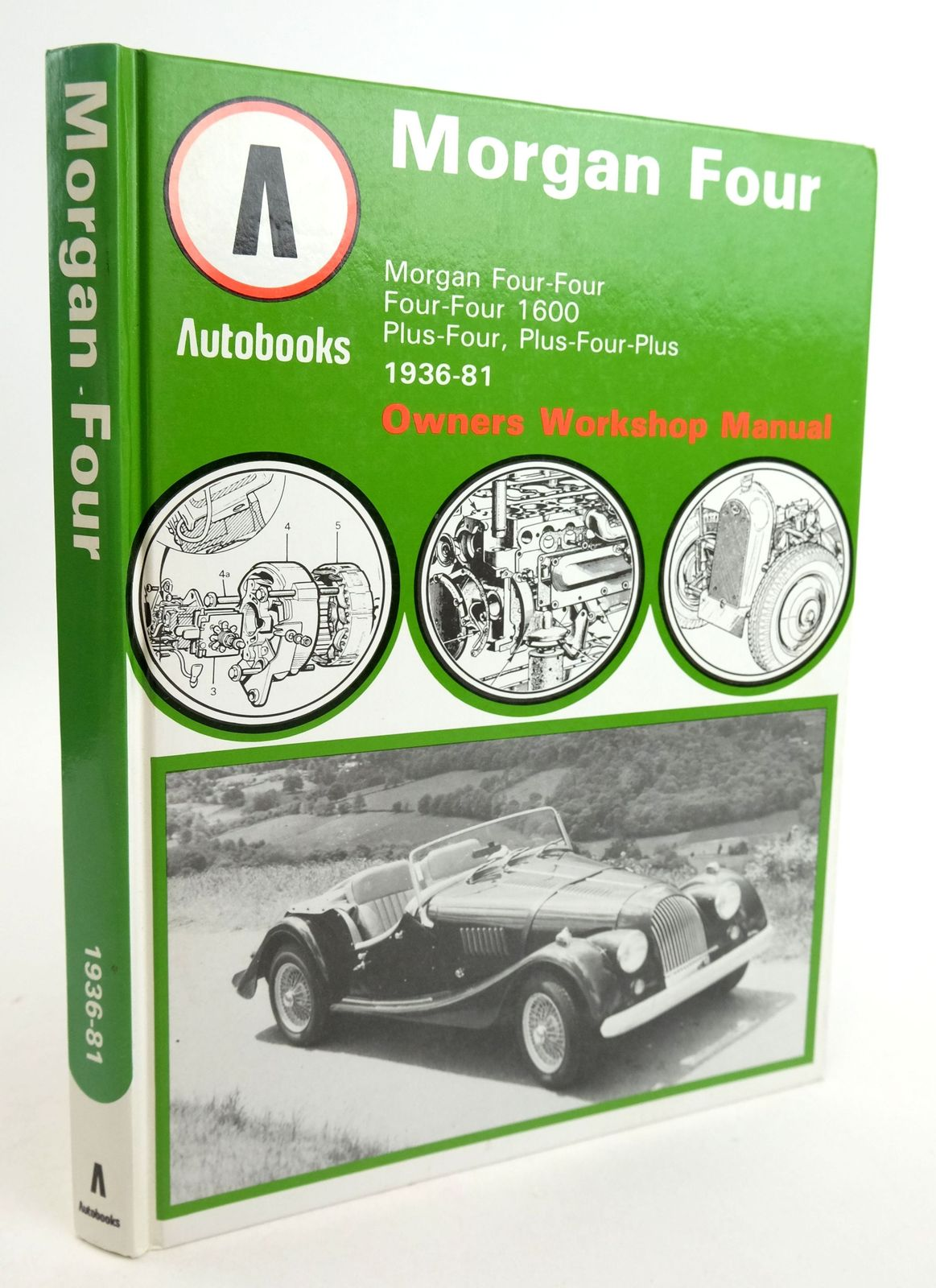 Photo of MORGAN FOUR 1936-81 AUTOBOOK- Stock Number: 1819891