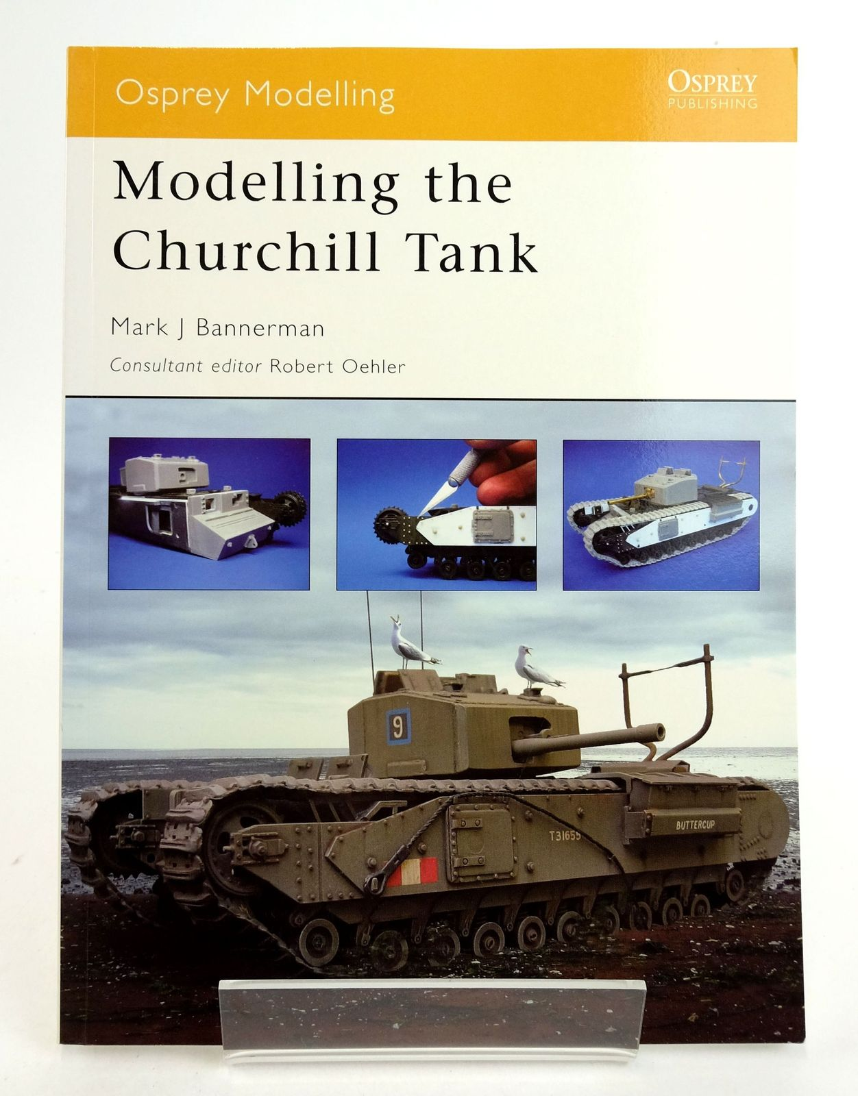 Photo of MODELLING THE CHURCHILL TANK (OSPREY MODELLING 21)- Stock Number: 1819893