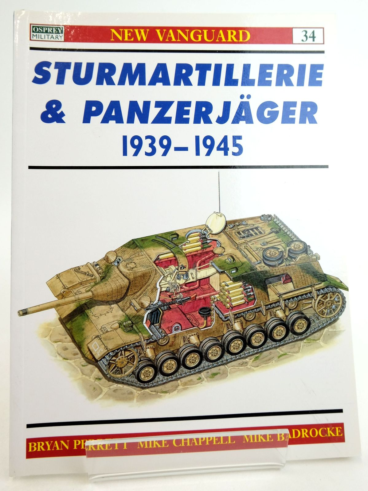 Photo of STURMARTILLERIE & PANZERJAGER 1939-1945 (NEW VANGUARD: 34) written by Perrett, Bryan illustrated by Chappell, Mike Badrocke, Mike published by Osprey Military (STOCK CODE: 1819897)  for sale by Stella & Rose's Books