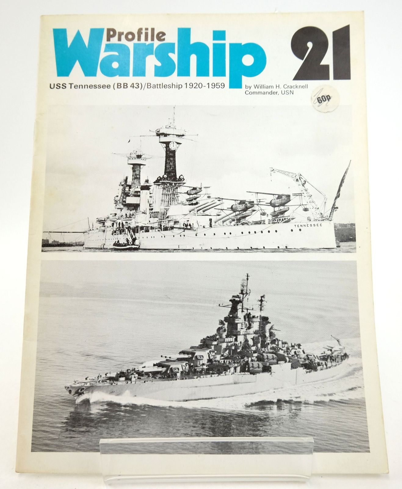 Photo of PROFILE WARSHIP 21: USS TENNESSEE (BB 43)/ BATTLESHIP 1920-1959- Stock Number: 1819902