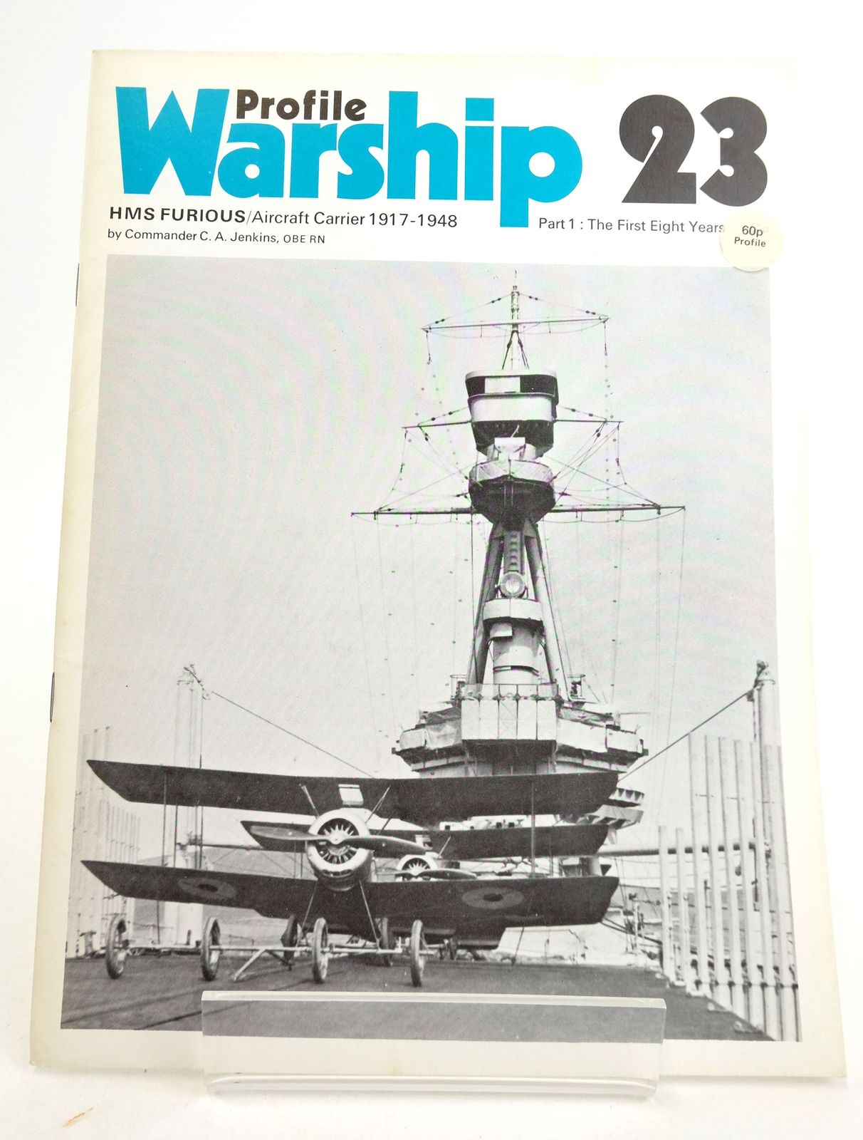 Photo of PROFILE WARSHIP 23: HMS FURIOUS/AIRCRAFT CARRIER 1917-1947 PART 1: THE FIRST EIGHT YEARS- Stock Number: 1819904