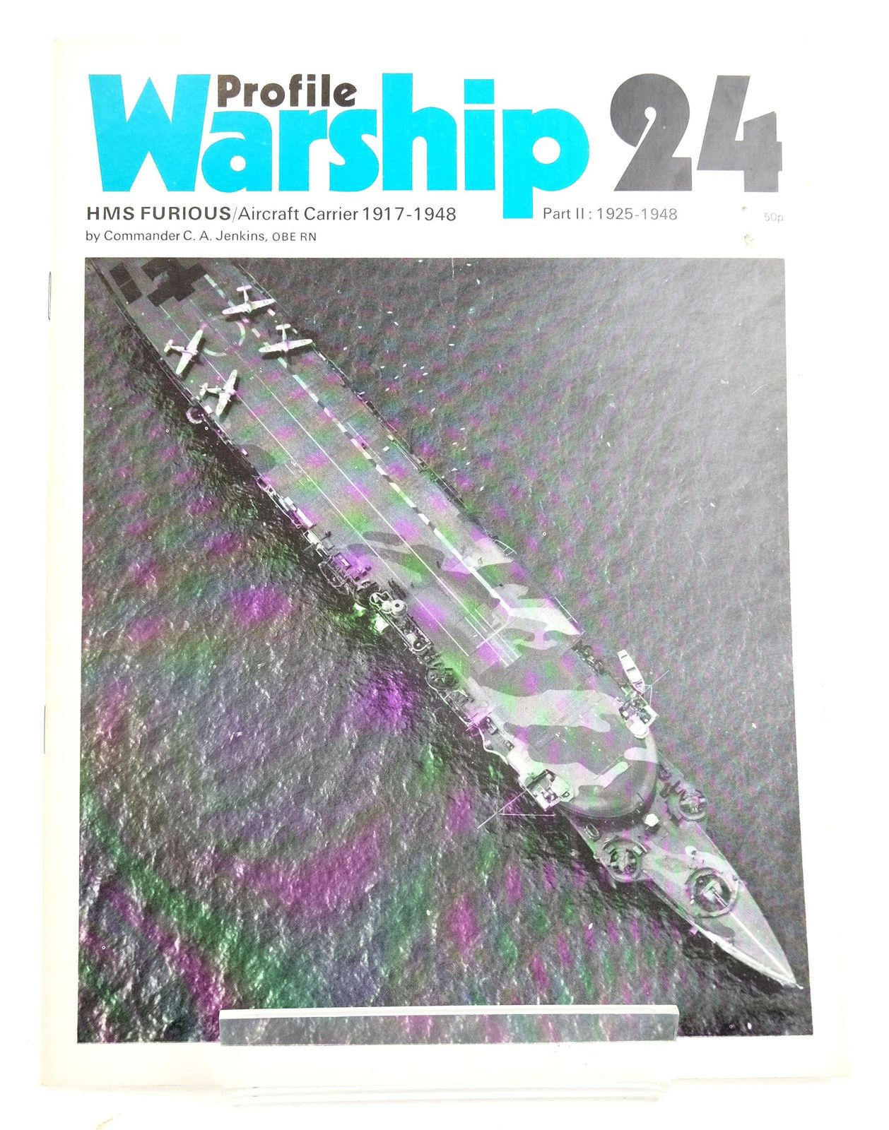 Photo of PROFILE WARSHIP 24: HMS FURIOUS/AIRCRAFT CARRIER 1917-1948 PART II: 1925-1948- Stock Number: 1819905