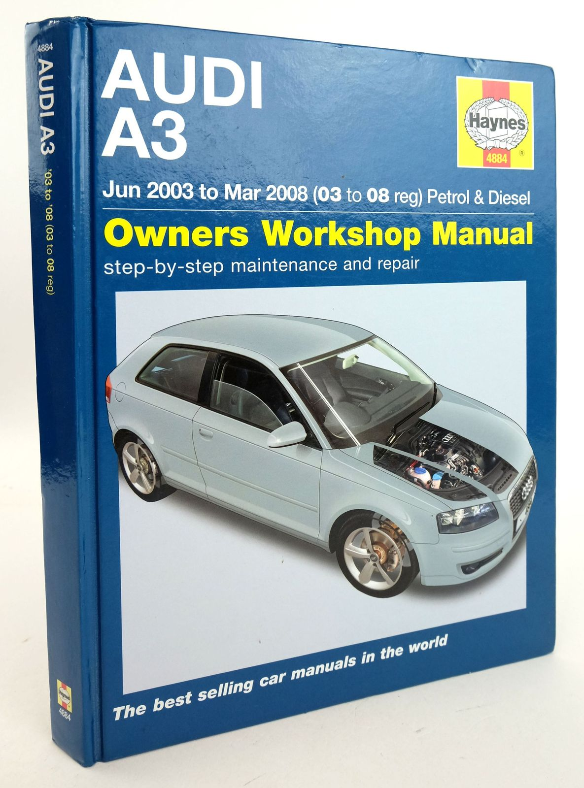 Photo of AUDI A3: OWNERS WORKSHOP MANUAL- Stock Number: 1819933