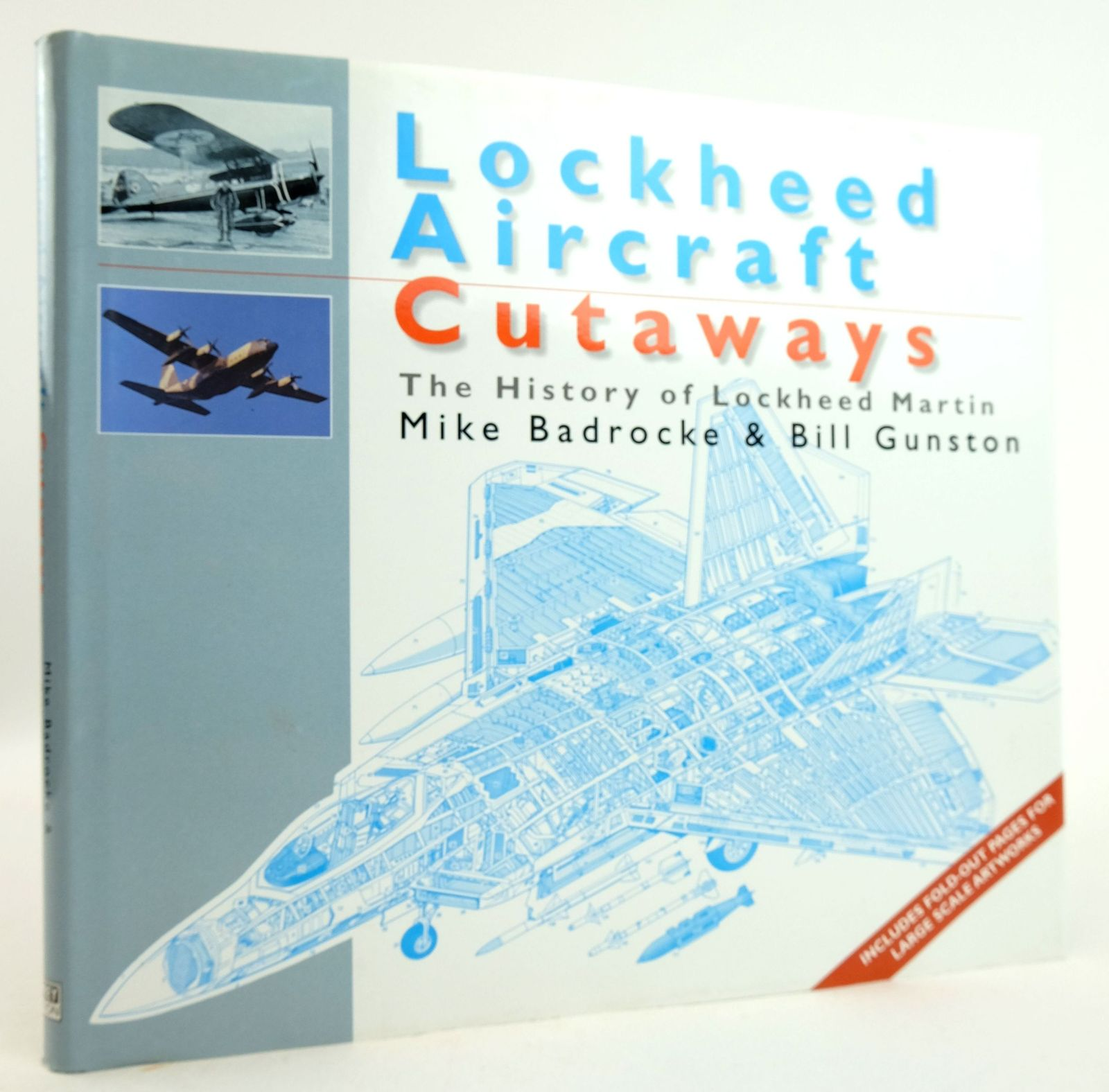 Photo of LOCKHEED AIRCRAFT CUTAWAYS: THE HISTORY OF LOCKHEED MARTIN written by Bradcrocke, Mike Gunston, Bill published by Osprey Aviation (STOCK CODE: 1819935)  for sale by Stella & Rose's Books