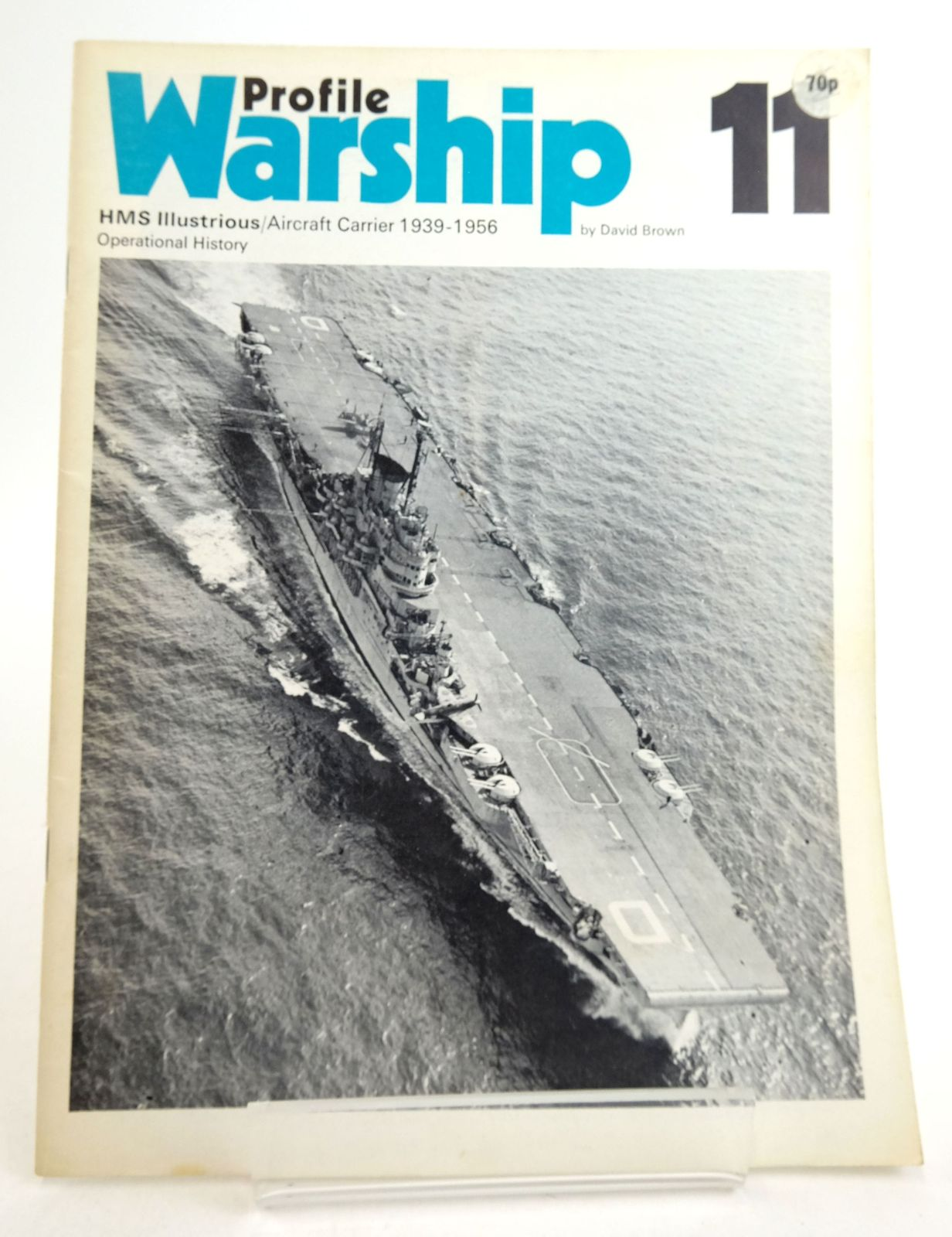 Photo of PROFILE WARSHIP 11: HMS ILLUSTRIOUS/AIRCRAFT CARRIER 1939-1956 OPERATIONAL HISTORY- Stock Number: 1819944