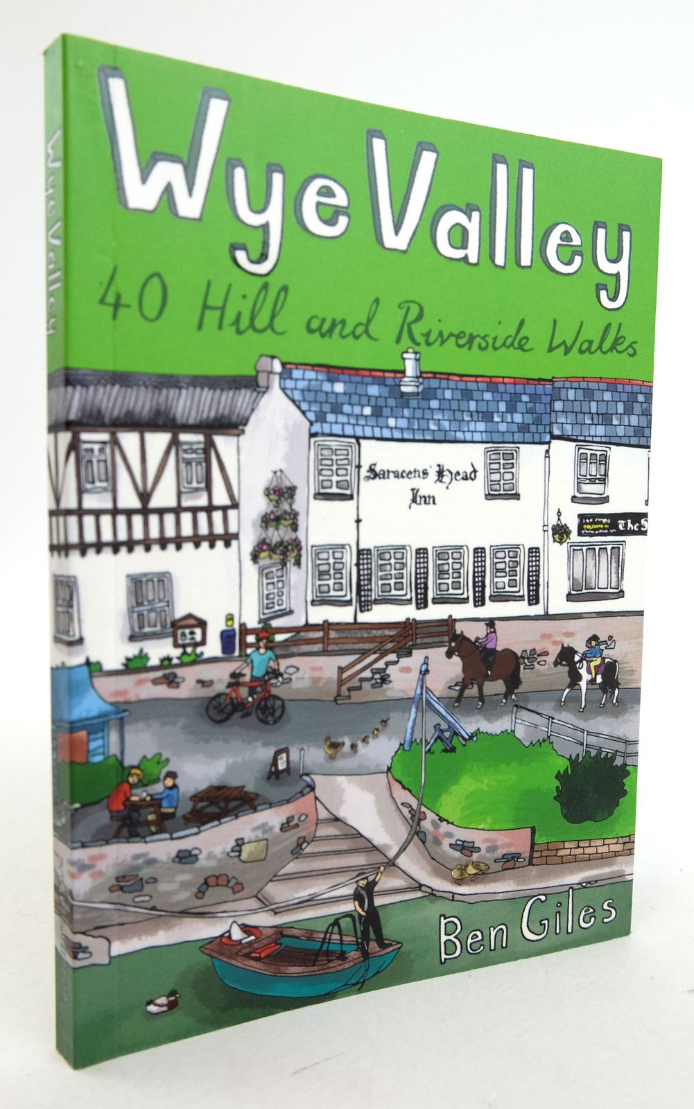 Photo of WYE VALLEY 40 HILL AND RIVERSIDE WALKS written by Giles, Ben published by Pocket Mountains Ltd (STOCK CODE: 1819945)  for sale by Stella & Rose's Books