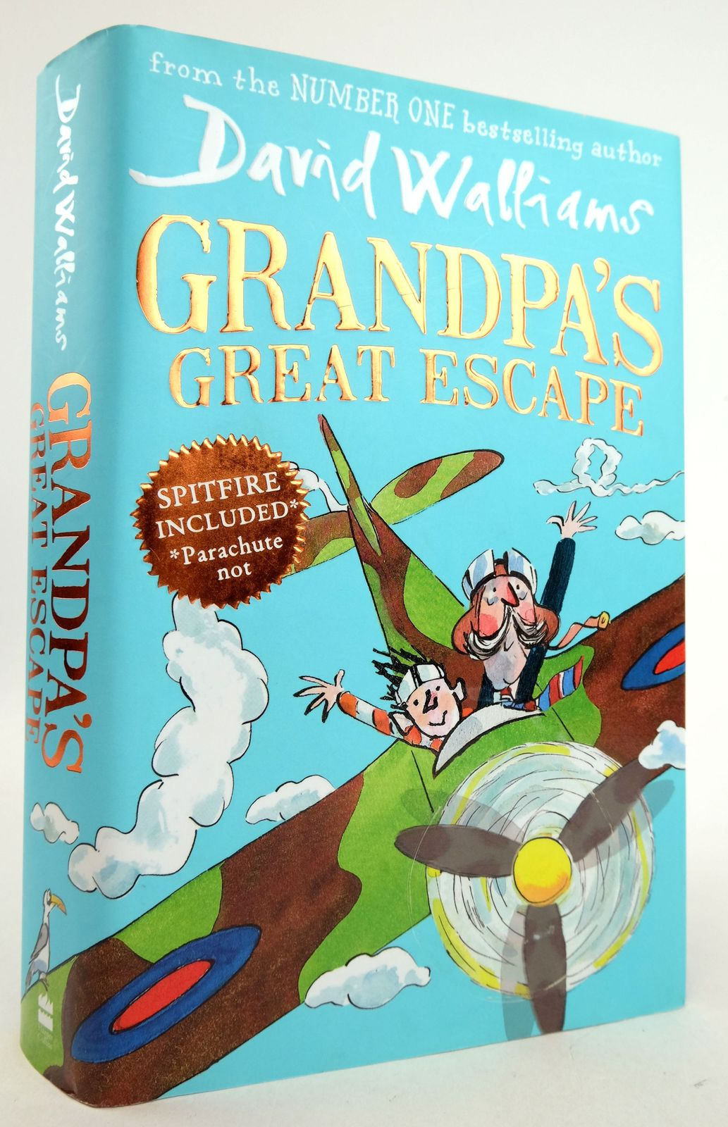 Photo of GRANDPA'S GREAT ESCAPE written by Walliams, David illustrated by Ross, Tony published by Harper Collins Childrens Books (STOCK CODE: 1819947)  for sale by Stella & Rose's Books