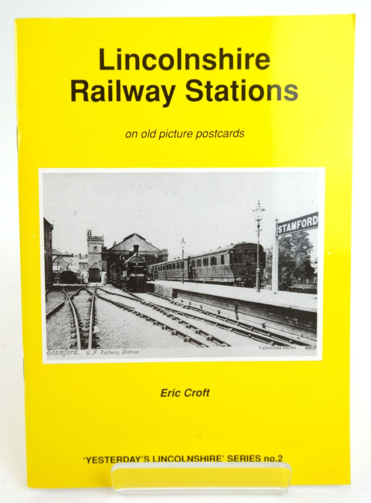 Photo of LINCOLNSHIRE RAILWAY STATIONS ON OLD PICTURE POSTCARDS- Stock Number: 1819962