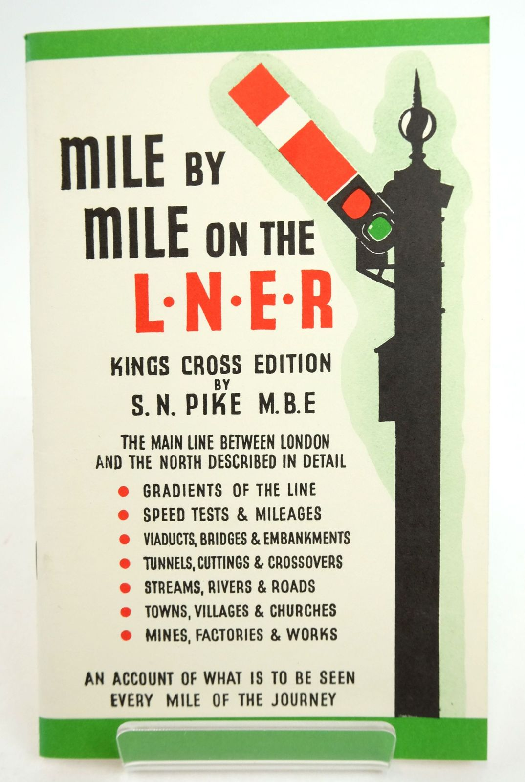 Photo of MILE BY MILE ON THE LNER written by Pike, S.N. published by Silver Link Publishing (STOCK CODE: 1819963)  for sale by Stella & Rose's Books