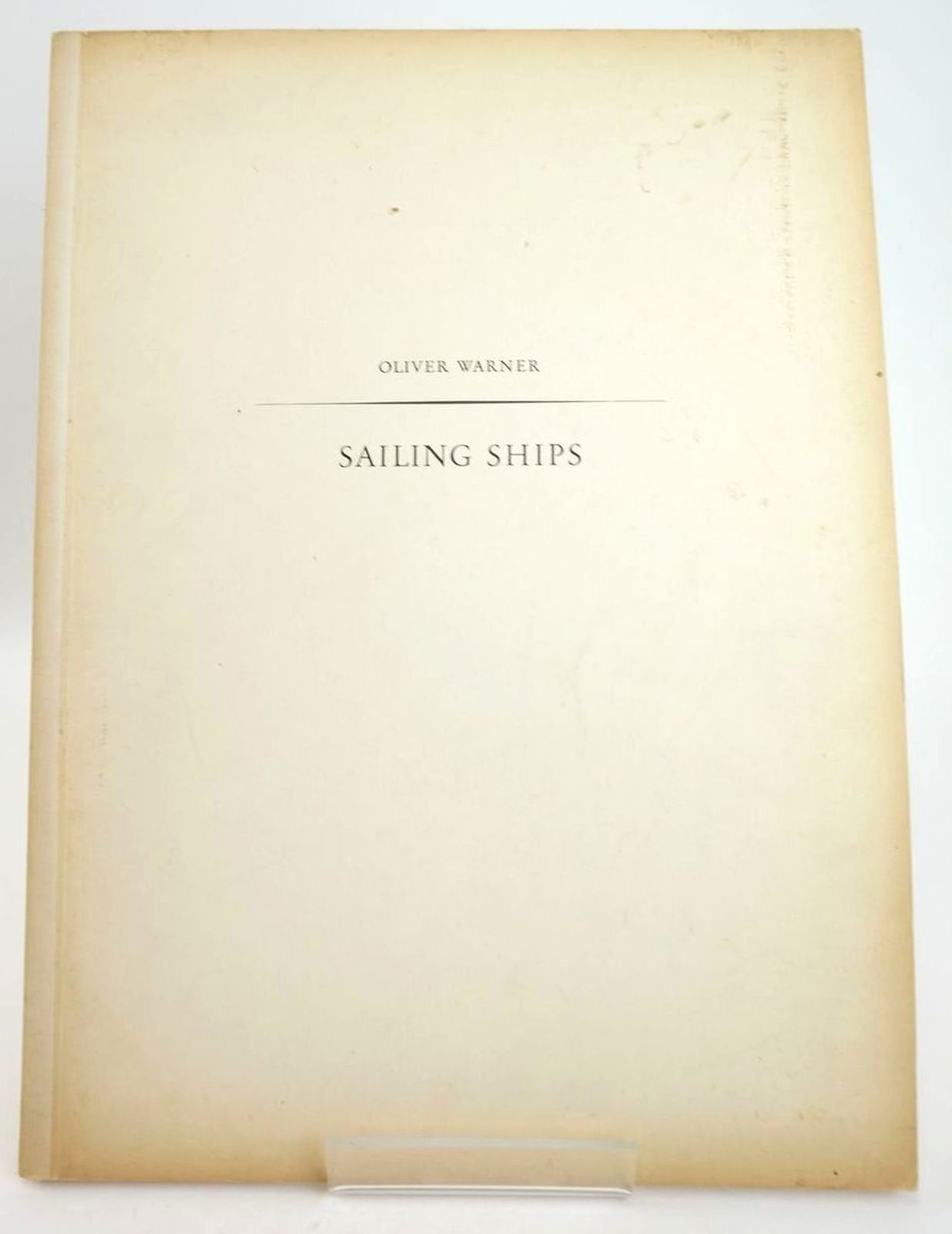 Photo of SAILING SHIPS written by Warner, Oliver published by The Ariel Press (STOCK CODE: 1819988)  for sale by Stella & Rose's Books