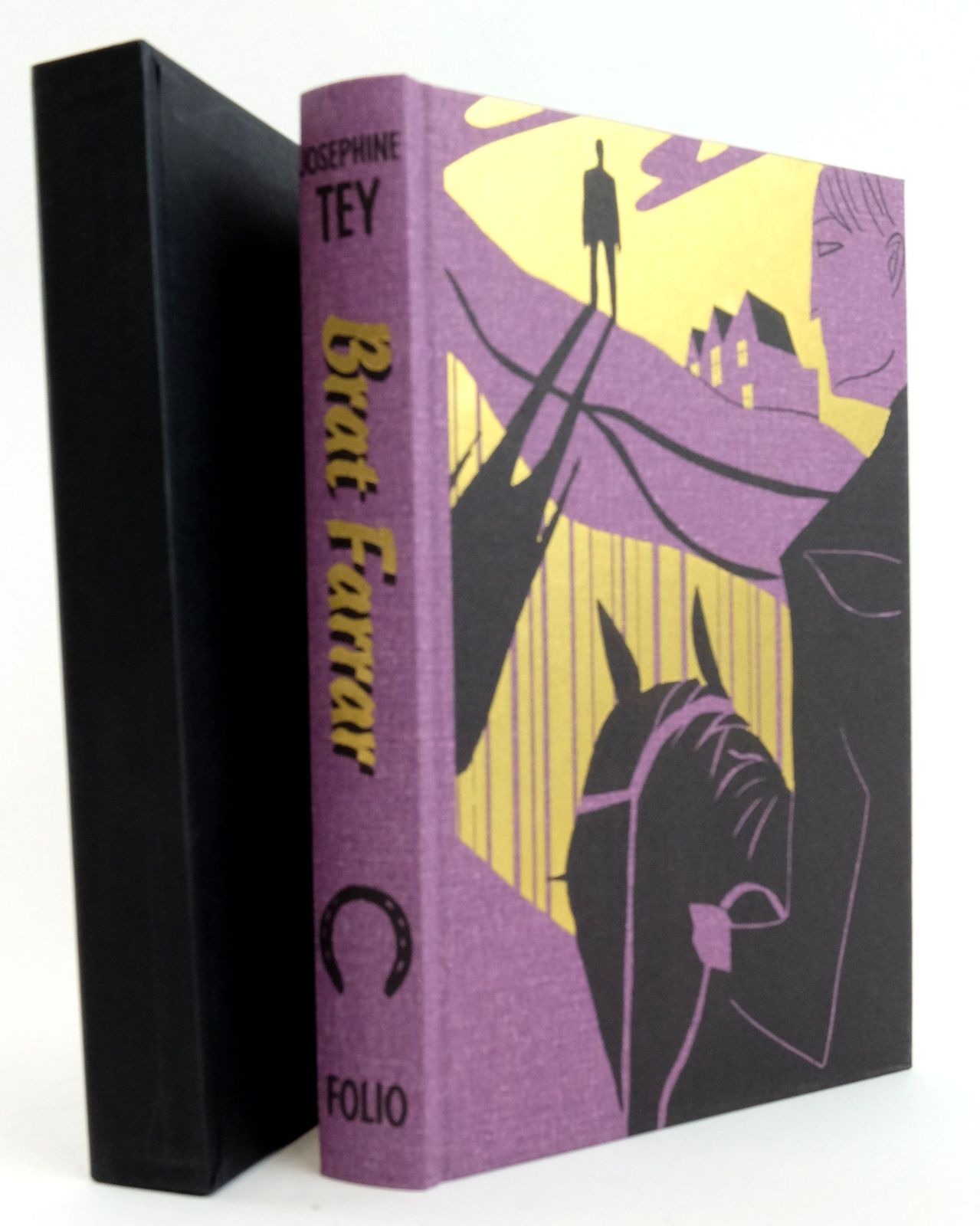 Photo of BRAT FARRAR written by Tey, Josephine Rendell, Ruth illustrated by Allen, A. Richard published by Folio Society (STOCK CODE: 1819994)  for sale by Stella & Rose's Books