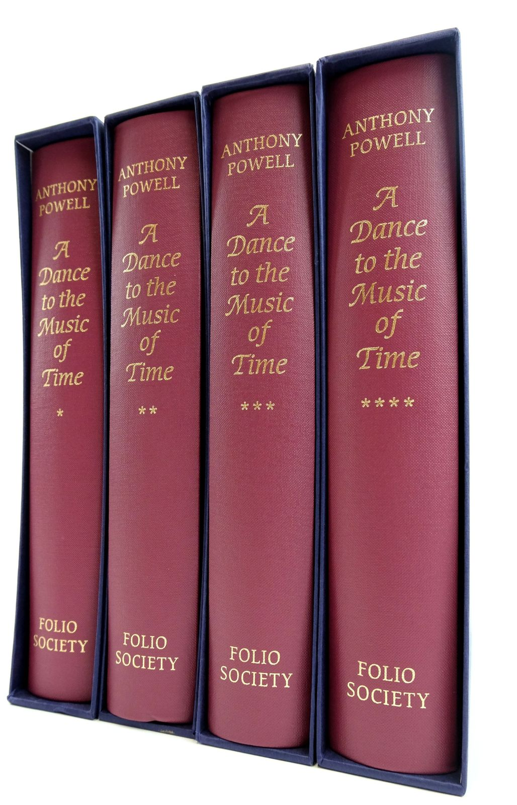 Photo of A DANCE TO THE MUSIC OF TIME (4 VOLUMES)