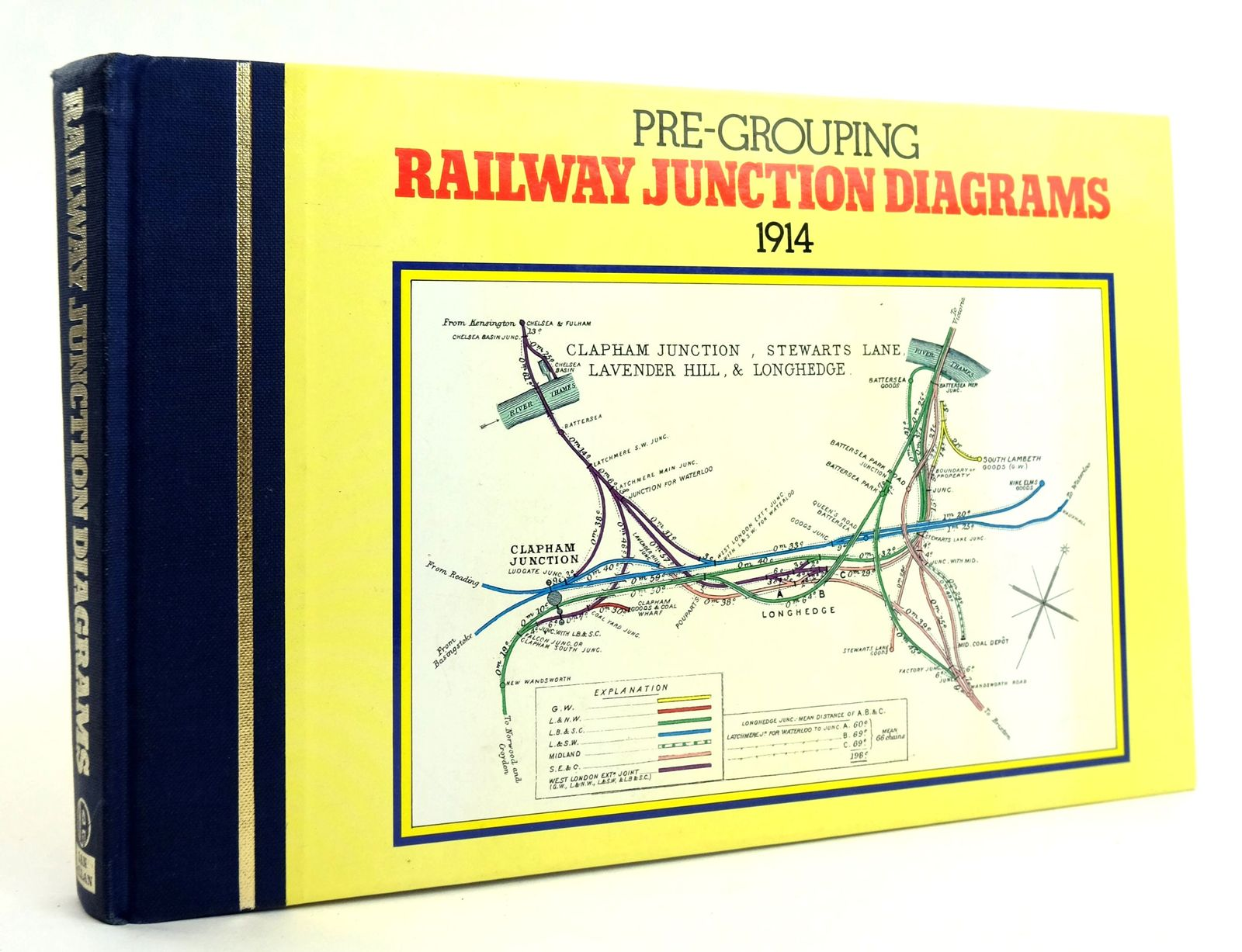Photo of PRE-GROUPING RAILWAY JUNCTION DIAGRAMS 1914- Stock Number: 1820003