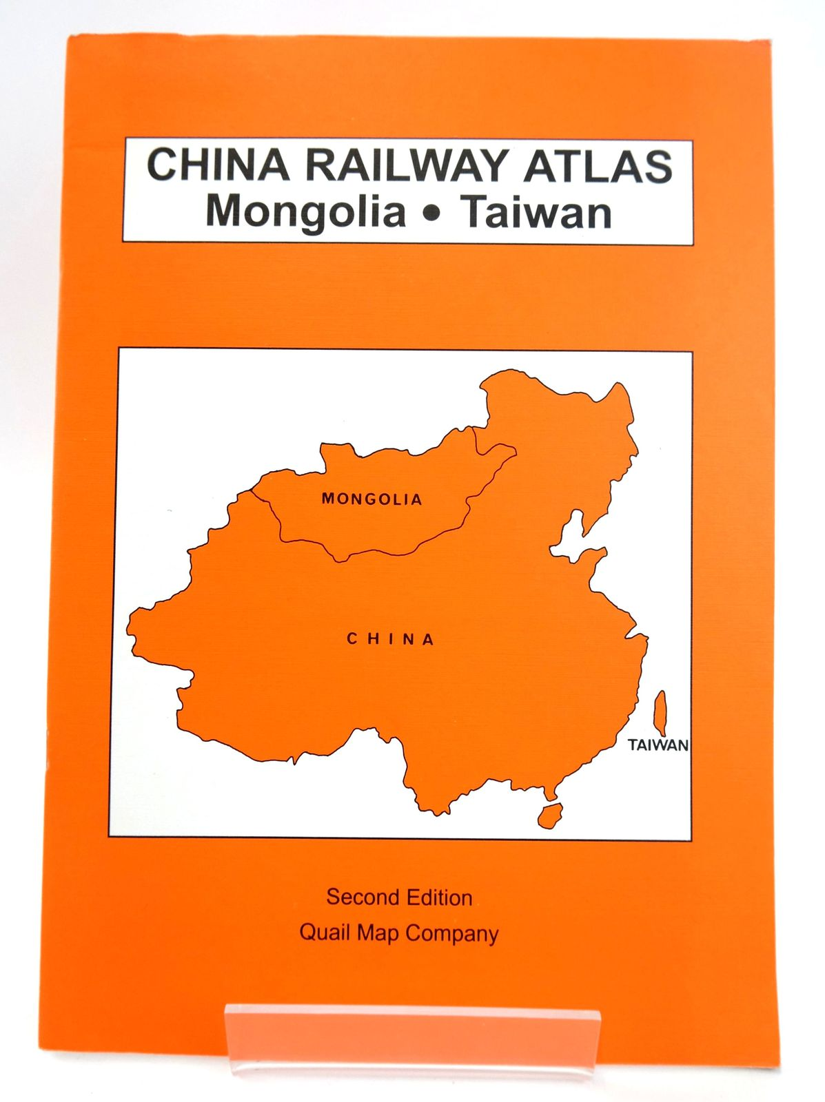 Photo of CHINA RAILWAY ATLAS: MONGOLIA, TAIWAN published by Quail Map Company (STOCK CODE: 1820023)  for sale by Stella & Rose's Books
