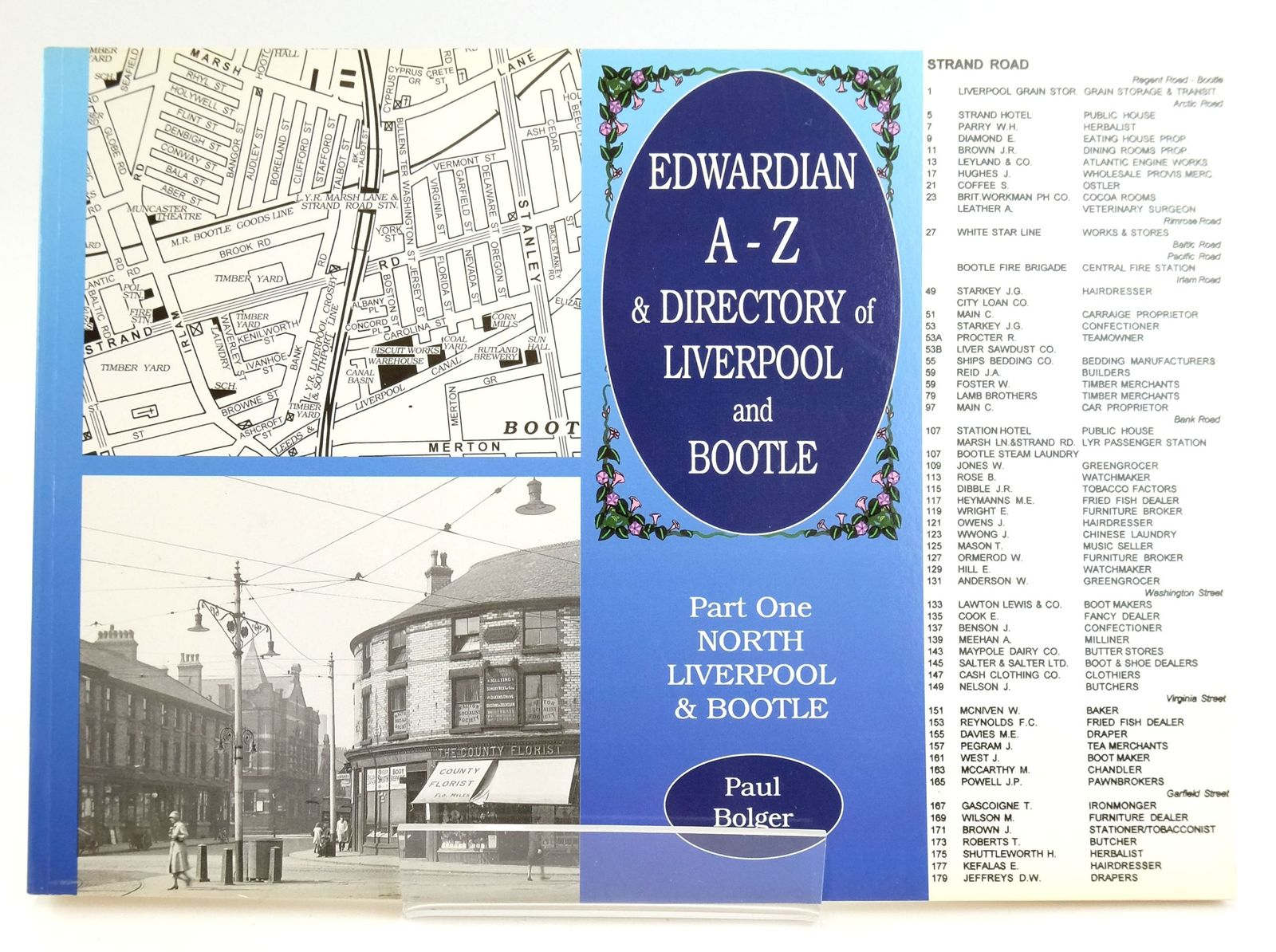 Photo of EDWARDIAN A-Z & DIRECTORY OF LIVERPOOL & BOOTLE: PART ONE NORTH LIVERPOOL & BOOTLE- Stock Number: 1820024