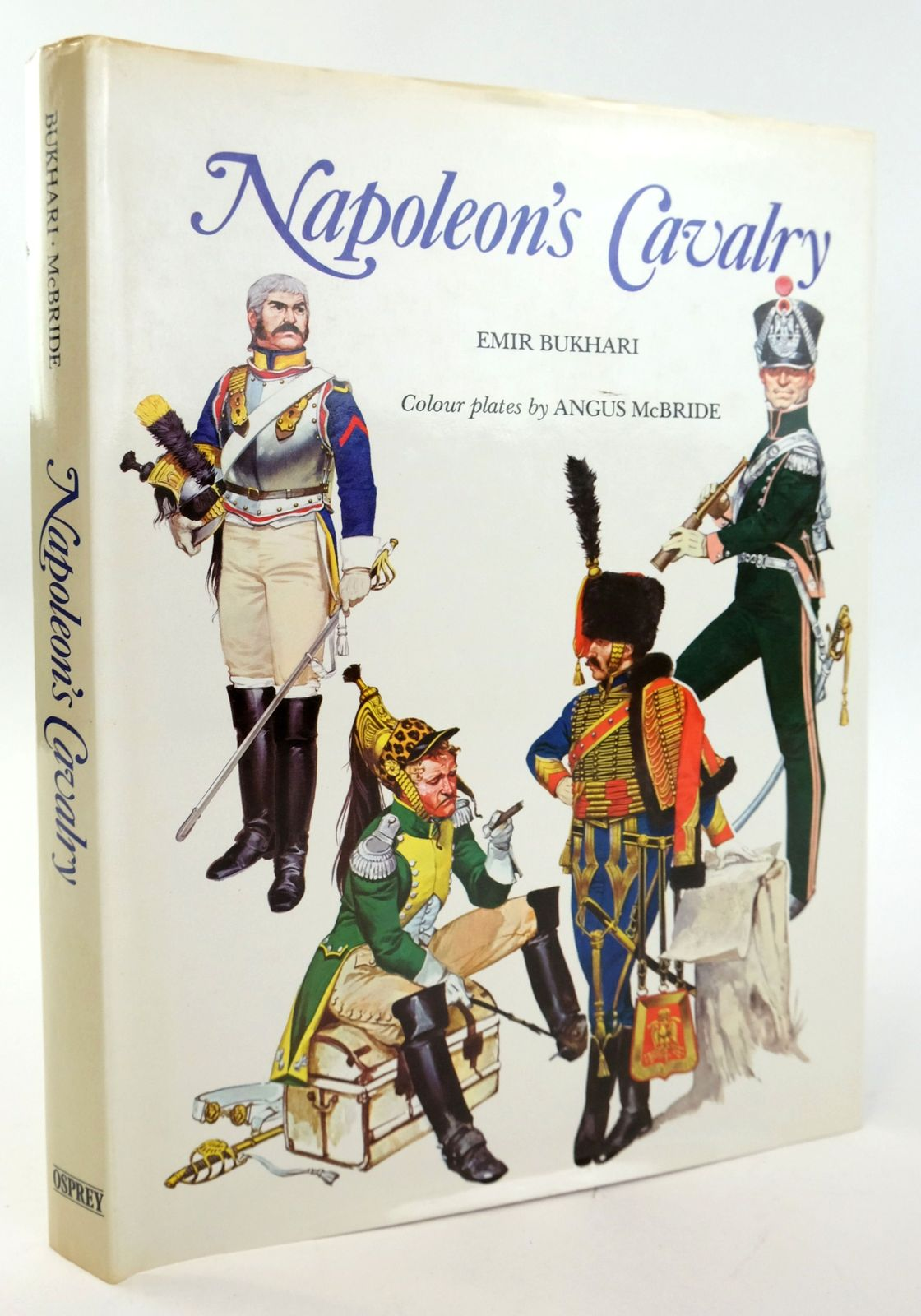 Photo of NAPOLEON'S CAVALRY written by Burkhari, Emir illustrated by McBride, Angus published by Osprey Publishing (STOCK CODE: 1820051)  for sale by Stella & Rose's Books