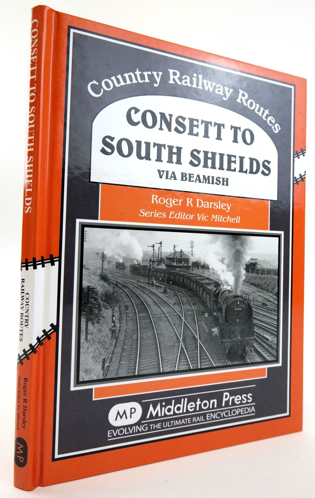 Photo of CONSETT TO SOUTH SHIELDS VIA BEAMISH (COUNTRY RAILWAY ROUTES)- Stock Number: 1820063