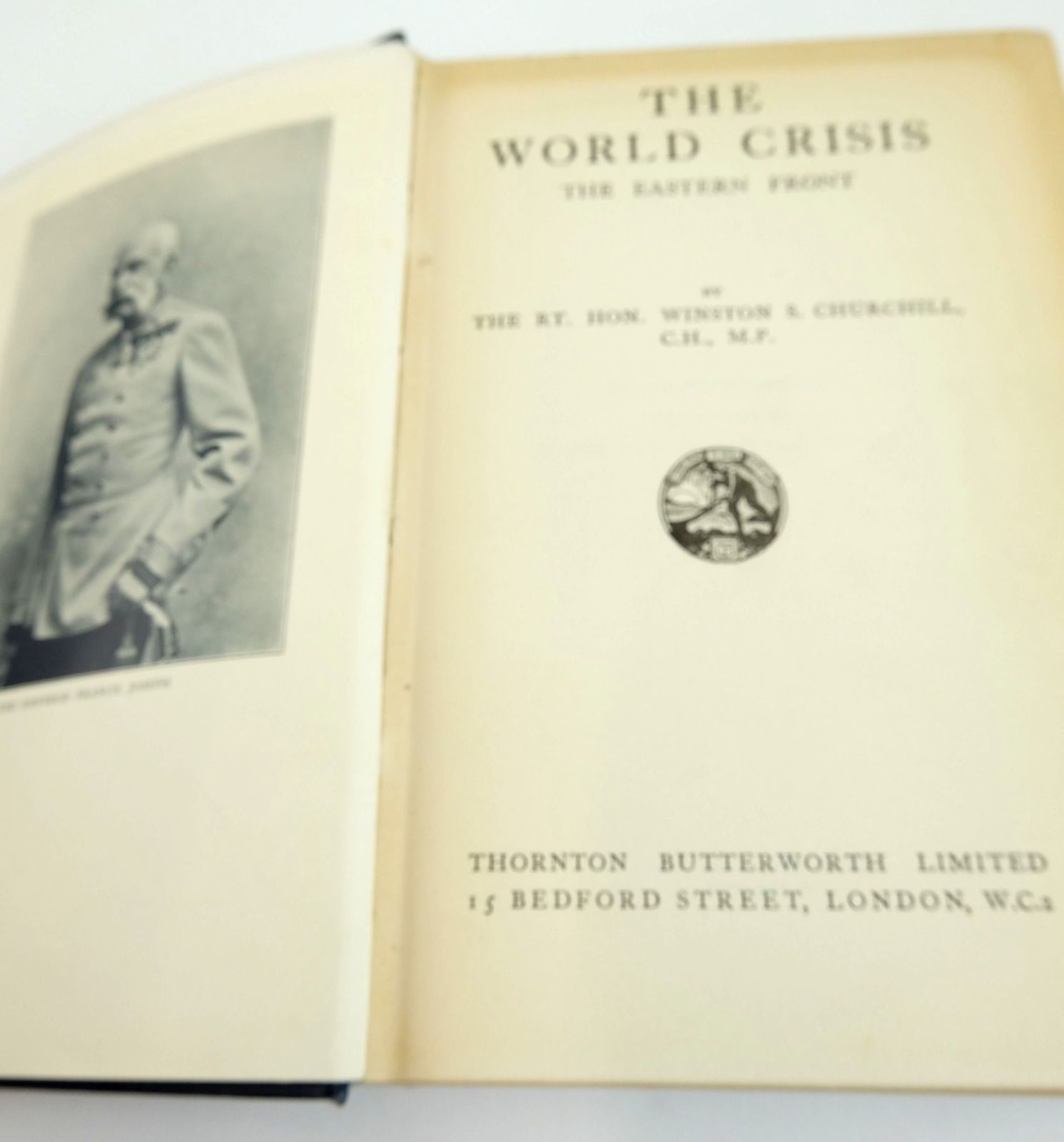 Photo of THE WORLD CRISIS: THE EASTERN FRONT written by Churchill, Winston S. published by Thornton Butterworth Ltd. (STOCK CODE: 1820099)  for sale by Stella & Rose's Books