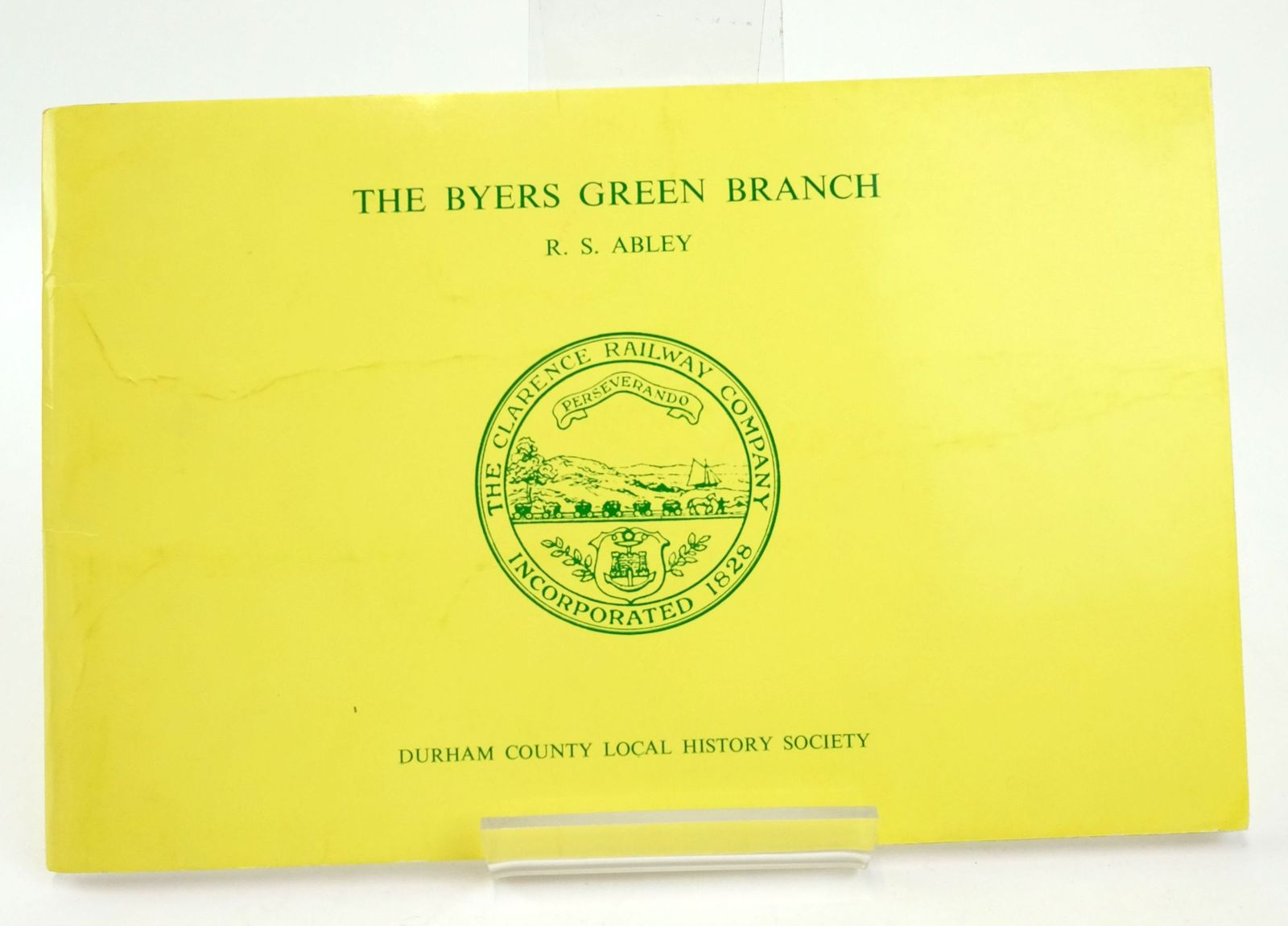 Photo of THE BYERS GREEN BRANCH OF THE CLARENCE RAILWAY- Stock Number: 1820105