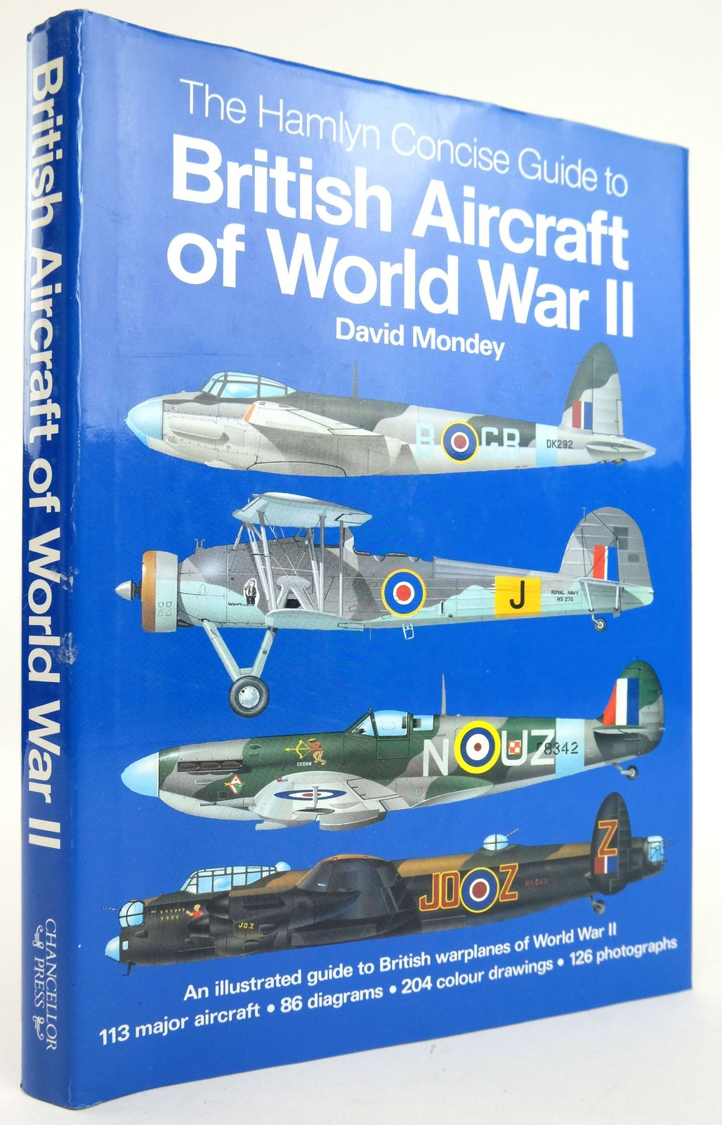 Photo of THE HAMLYN CONCISE GUIDE TO BRITISH AIRCRAFT OF WORLD WAR II written by Mondey, David published by Chancellor Press (STOCK CODE: 1820129)  for sale by Stella & Rose's Books