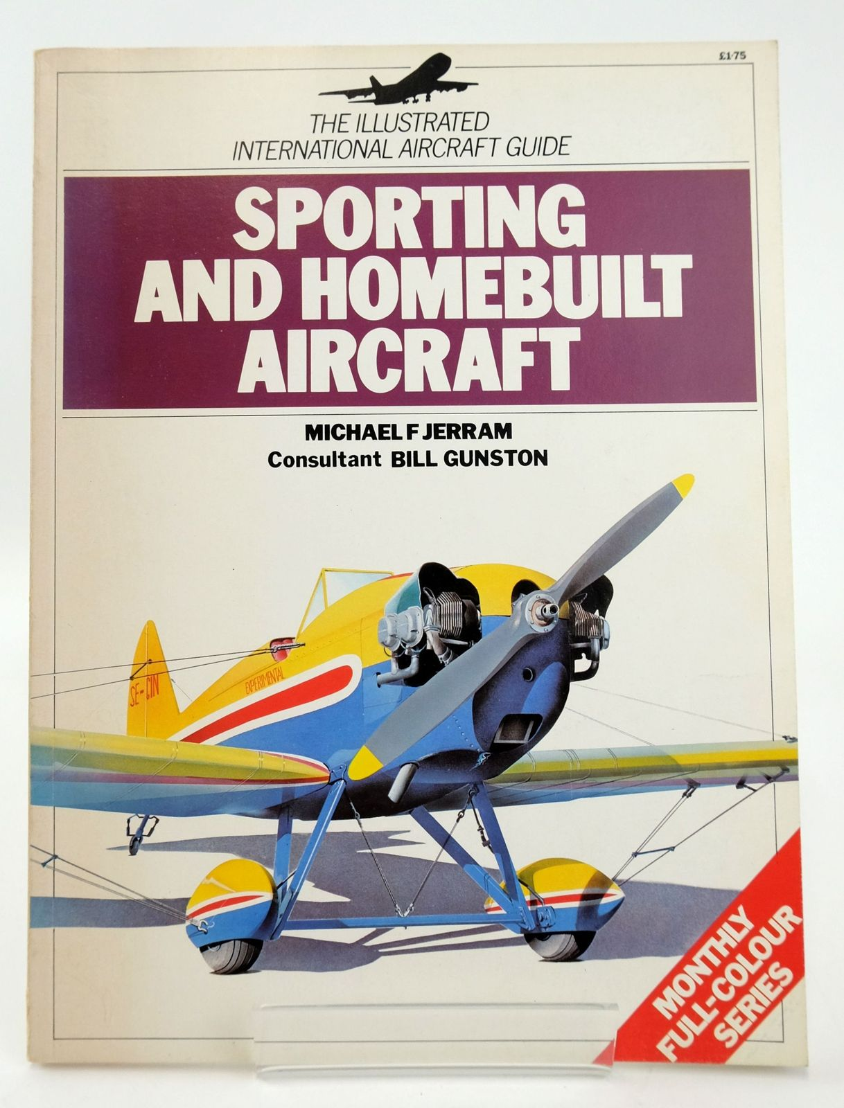 Photo of SPORTING AND HOMEBUILT AIRCRAFT (THE ILLUSTRATED INTERNATIONAL AIRCRAFT GUIDE) written by Jerram, Michael F. published by Macdonald Phoebus Limited (STOCK CODE: 1820139)  for sale by Stella & Rose's Books