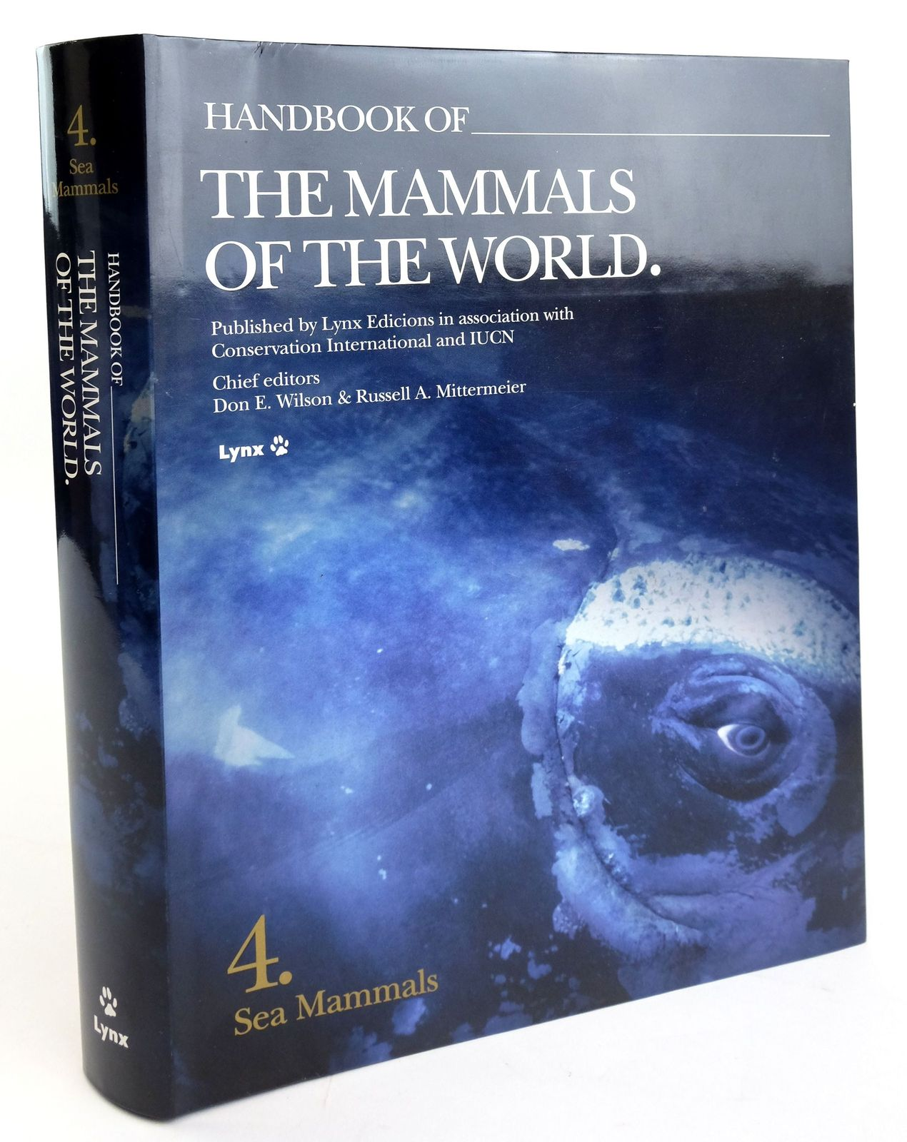 Photo of HANDBOOK OF THE MAMMALS OF THE WORLD 4. SEA MAMMALS- Stock Number: 1820159