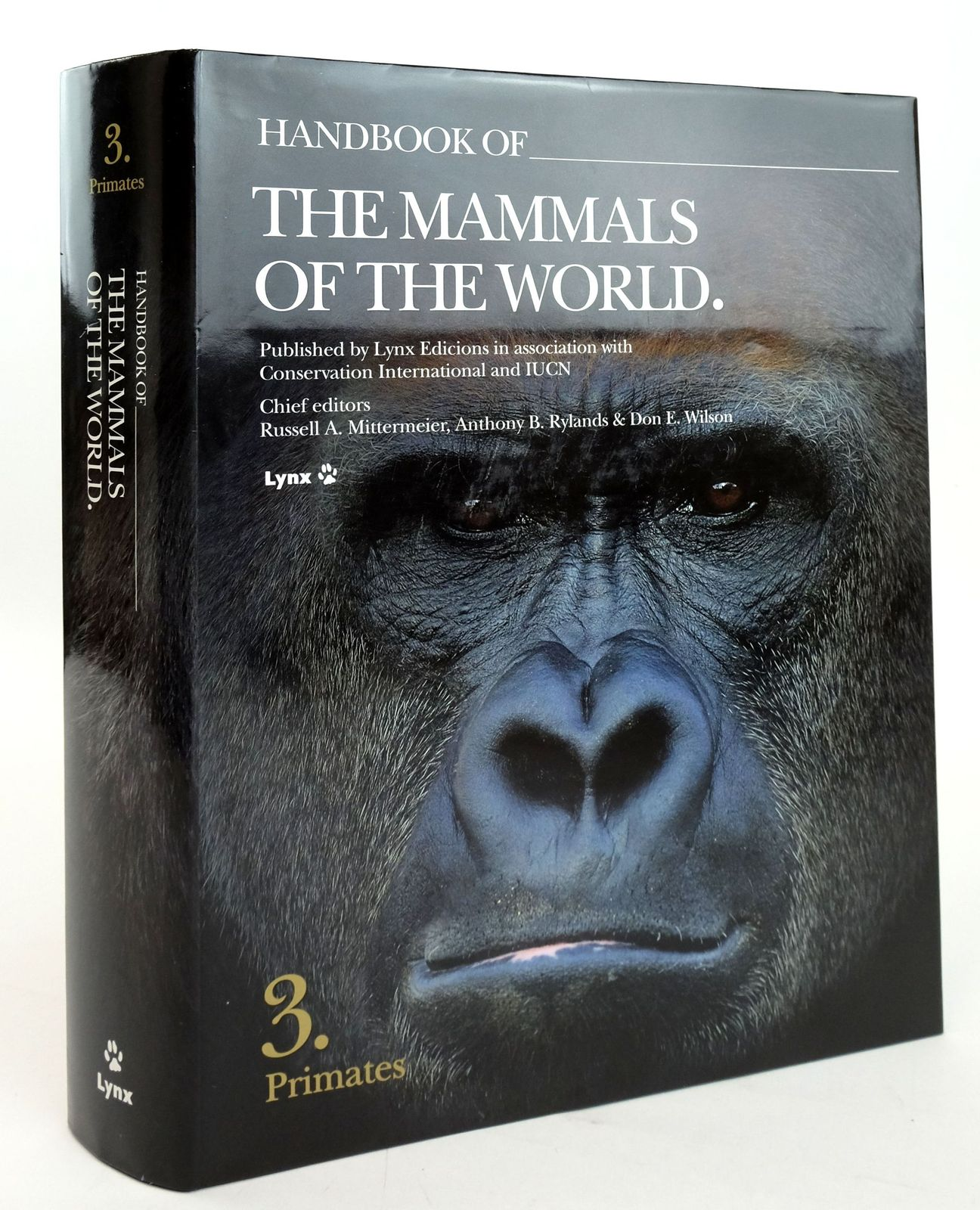 Photo of HANDBOOK OF THE MAMMALS OF THE WORLD 3. PRIMATES- Stock Number: 1820160