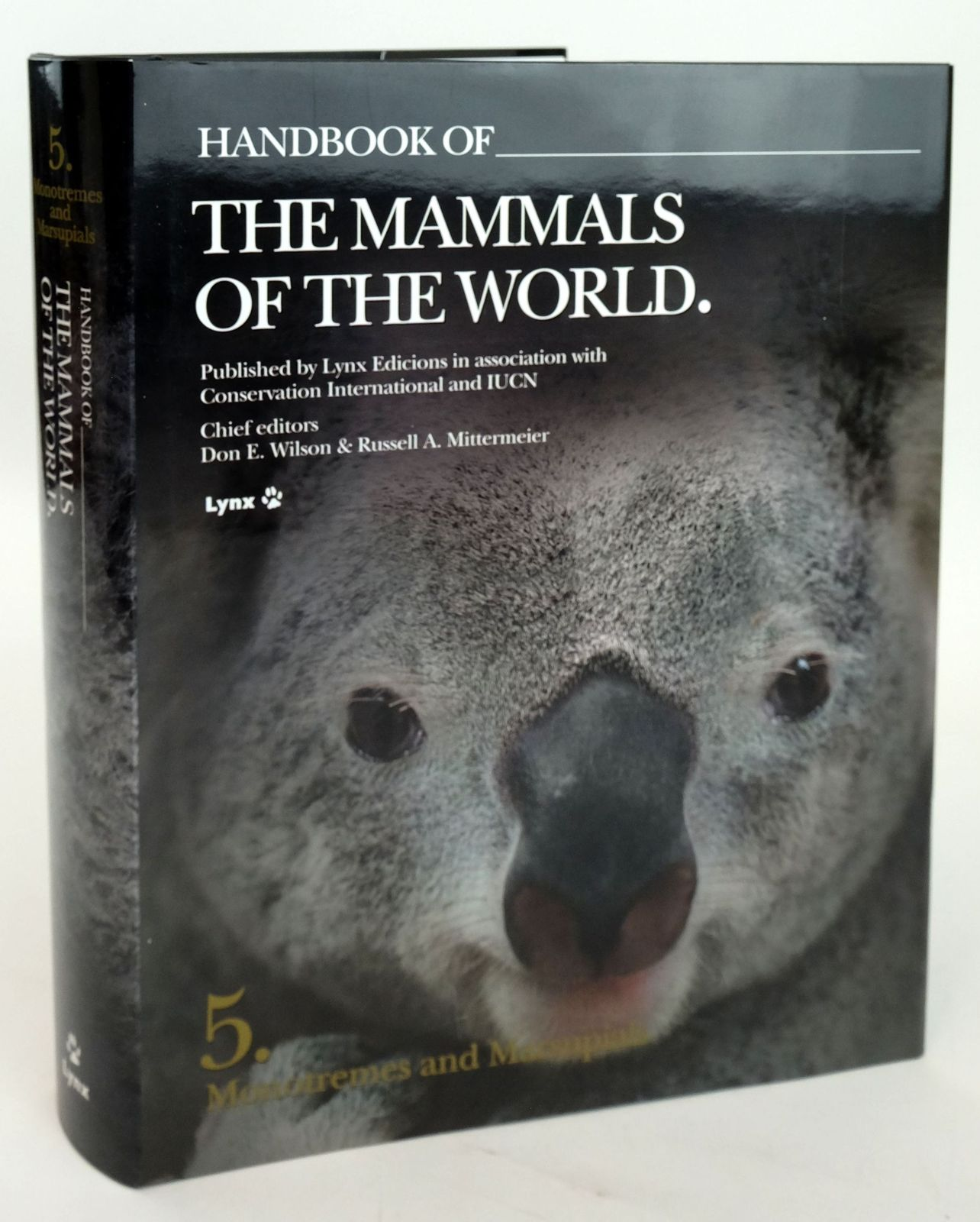 Photo of HANDBOOK OF THE MAMMALS OF THE WORLD 5. MONOTREMES AND MARSUPIALS- Stock Number: 1820161
