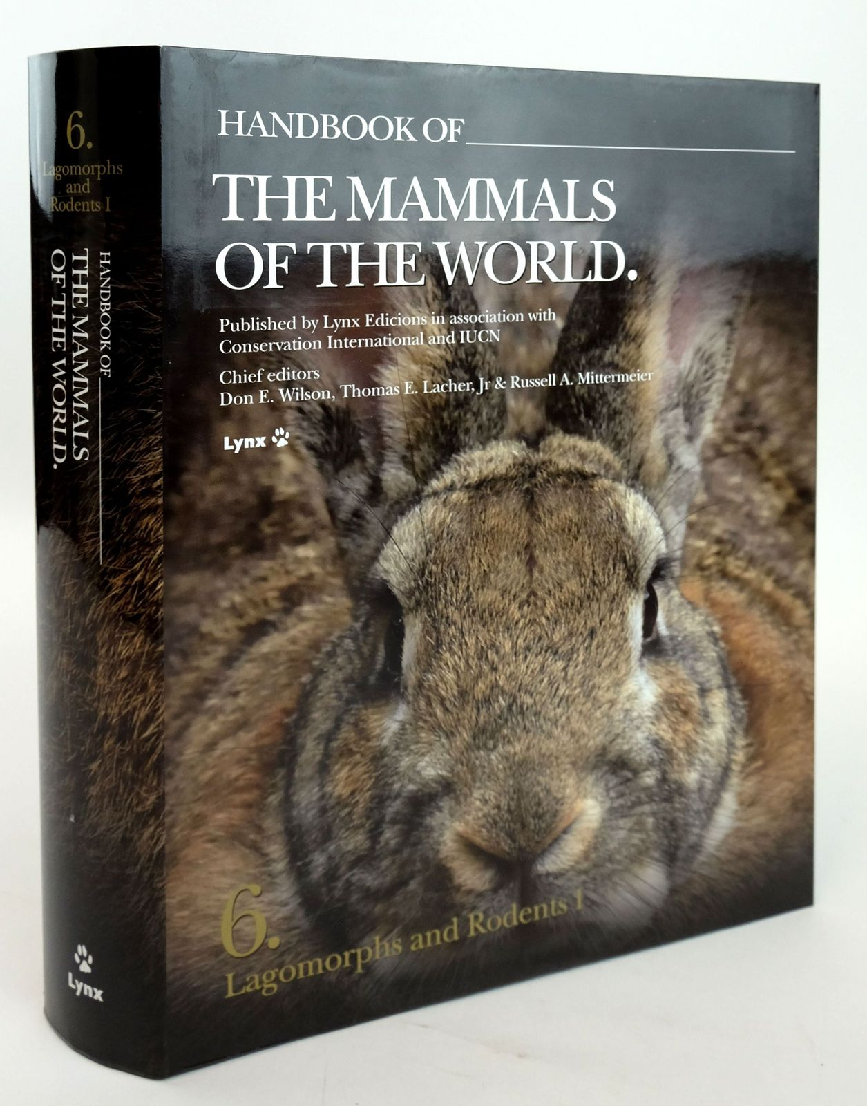 Photo of HANDBOOK OF THE MAMMALS OF THE WORLD 6. LAGOMORPHS AND RODENTS I- Stock Number: 1820162
