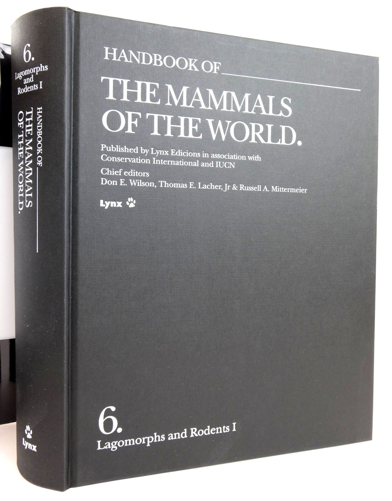 Photo of HANDBOOK OF THE MAMMALS OF THE WORLD 6. LAGOMORPHS AND RODENTS I written by Wilson, Don E. Lacher, Thomas E. Mittermeier, Russell A. et al, published by Lynx Edicions (STOCK CODE: 1820162)  for sale by Stella & Rose's Books