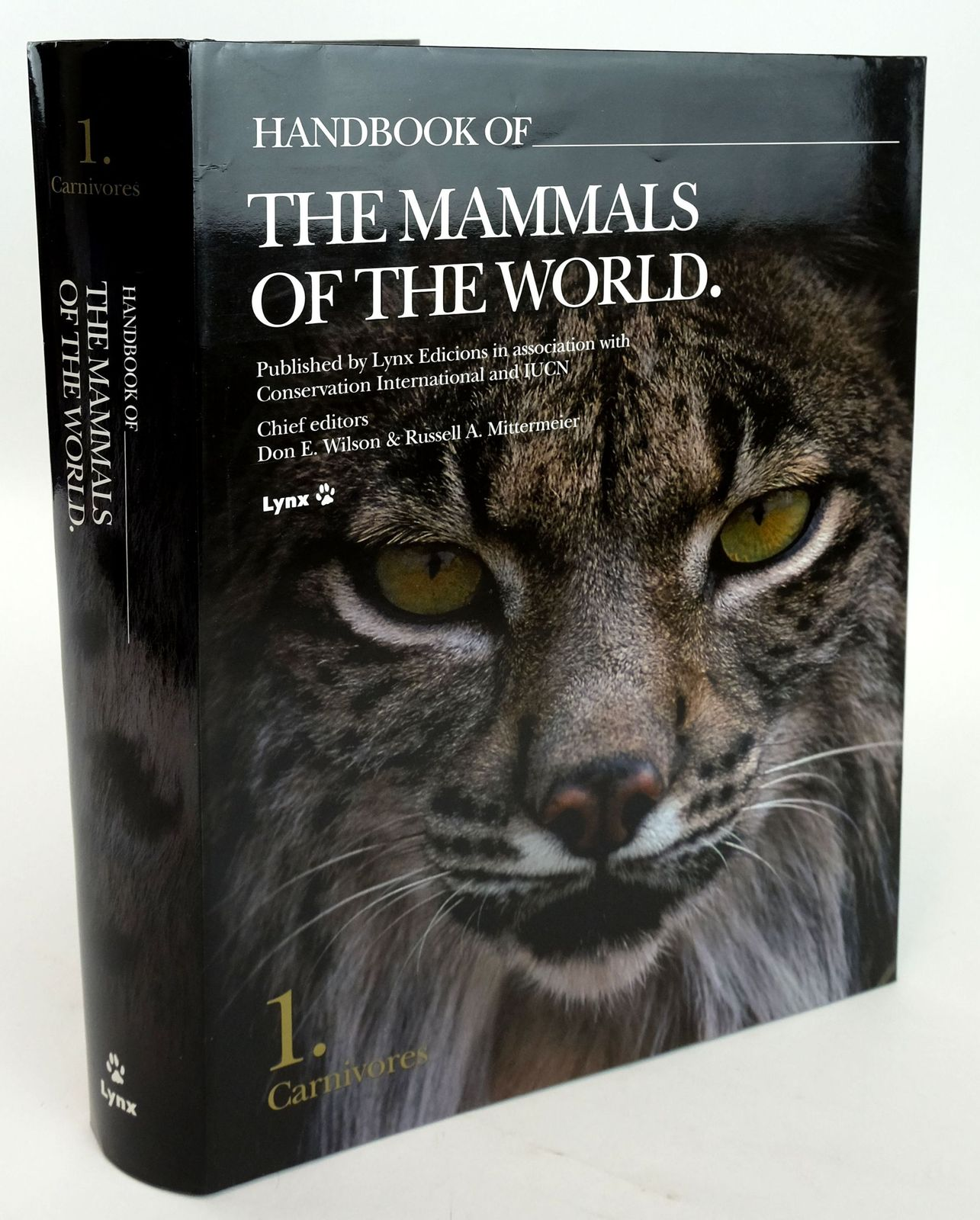 Photo of HANDBOOK OF THE MAMMALS OF THE WORLD 1. CARNIVORES- Stock Number: 1820163