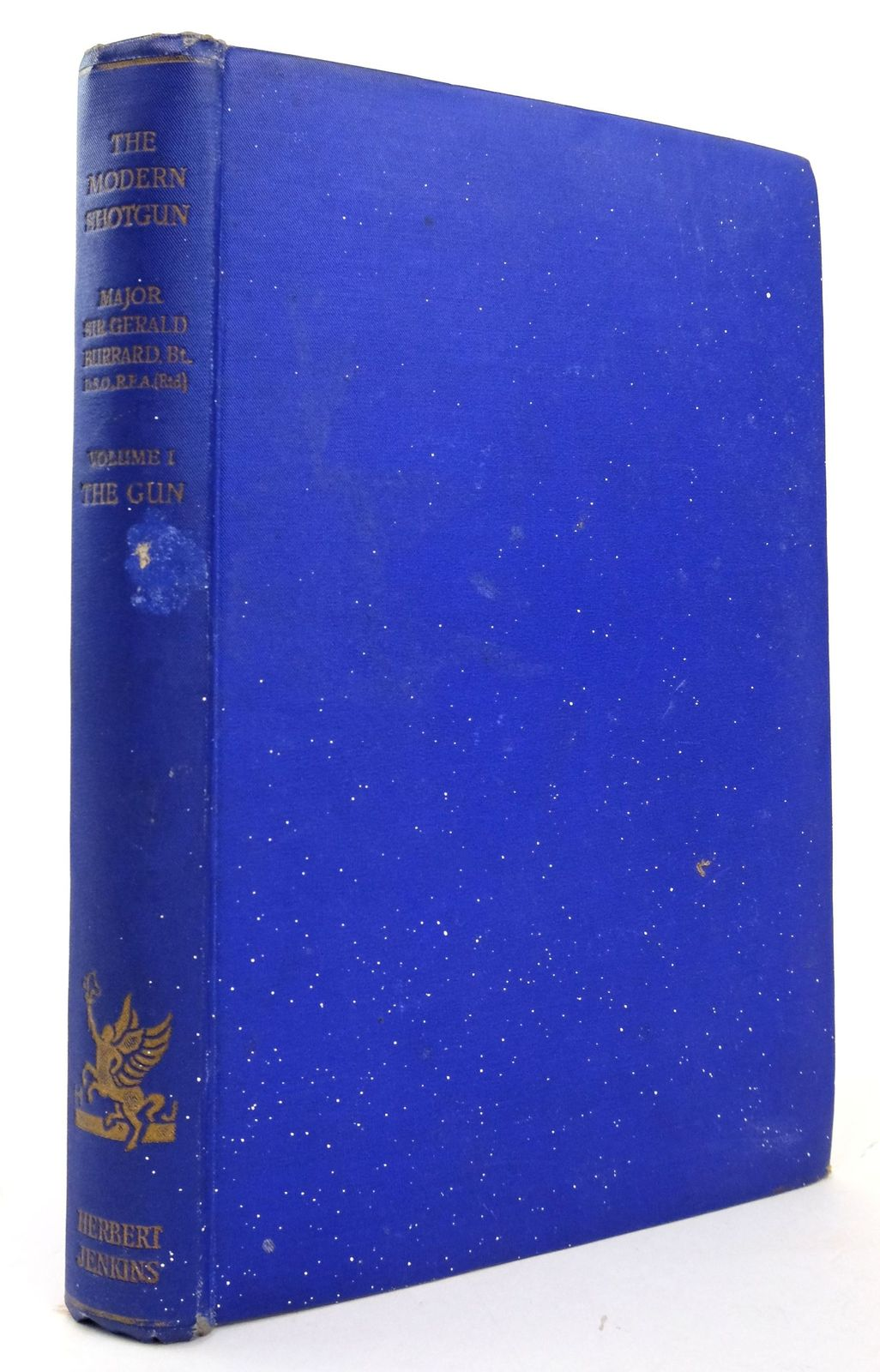 Photo of THE MODERN SHOTGUN VOLUME I THE GUN written by Burrard, Gerald published by Herbert Jenkins (STOCK CODE: 1820165)  for sale by Stella & Rose's Books