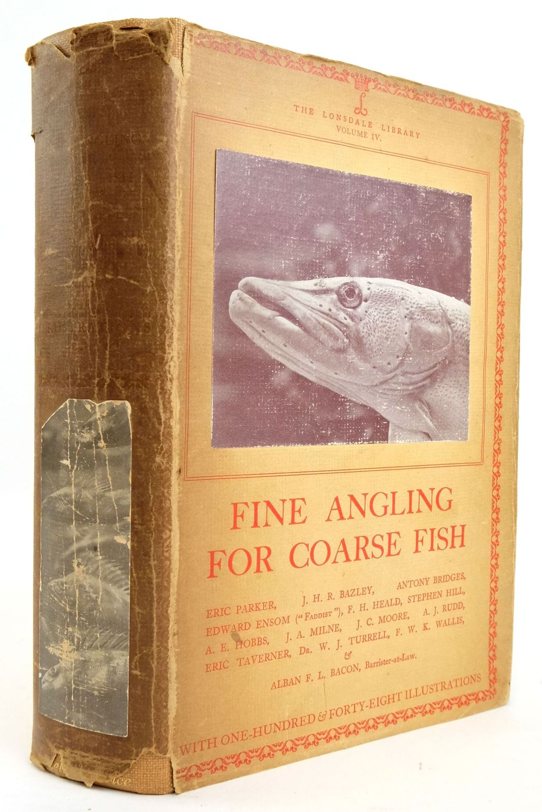 Photo of FINE ANGLING FOR COARSE FISH - LONSDALE LIBRARY VOL IV- Stock Number: 1820169