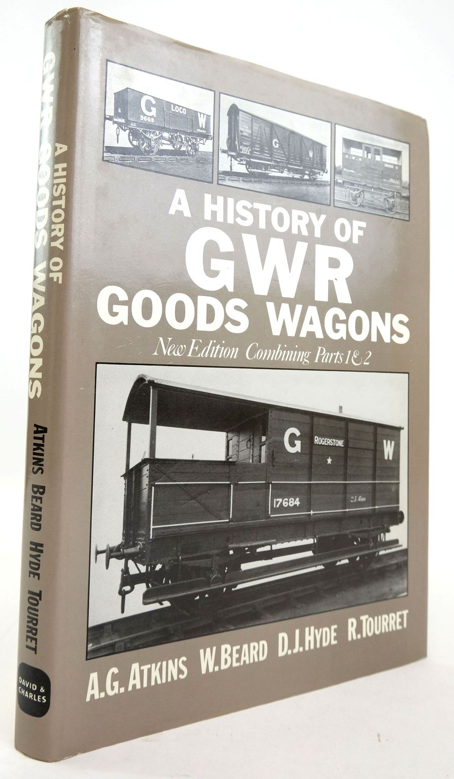 Photo of A HISTORY OF GWR GOODS WAGONS- Stock Number: 1820187