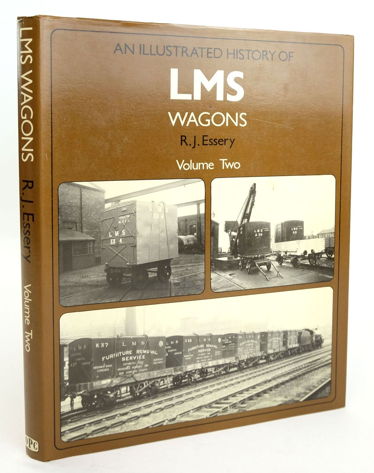 Photo of AN ILLUSTRATED HISTORY OF LMS WAGONS VOLUME TWO- Stock Number: 1820190