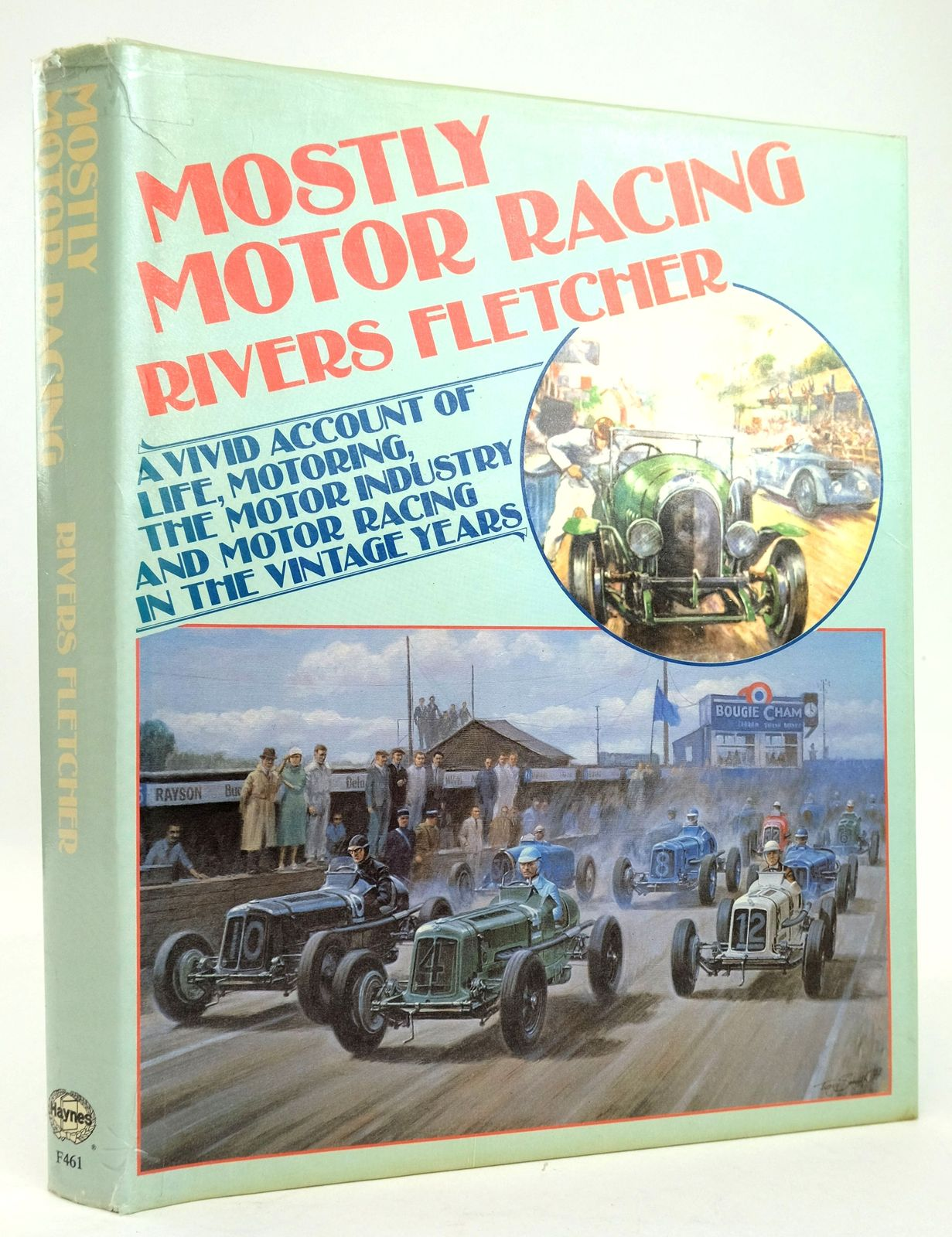 Photo of MOSTLY MOTOR RACING written by Fletcher, Rivers published by Foulis, Haynes Publishing Group (STOCK CODE: 1820212)  for sale by Stella & Rose's Books