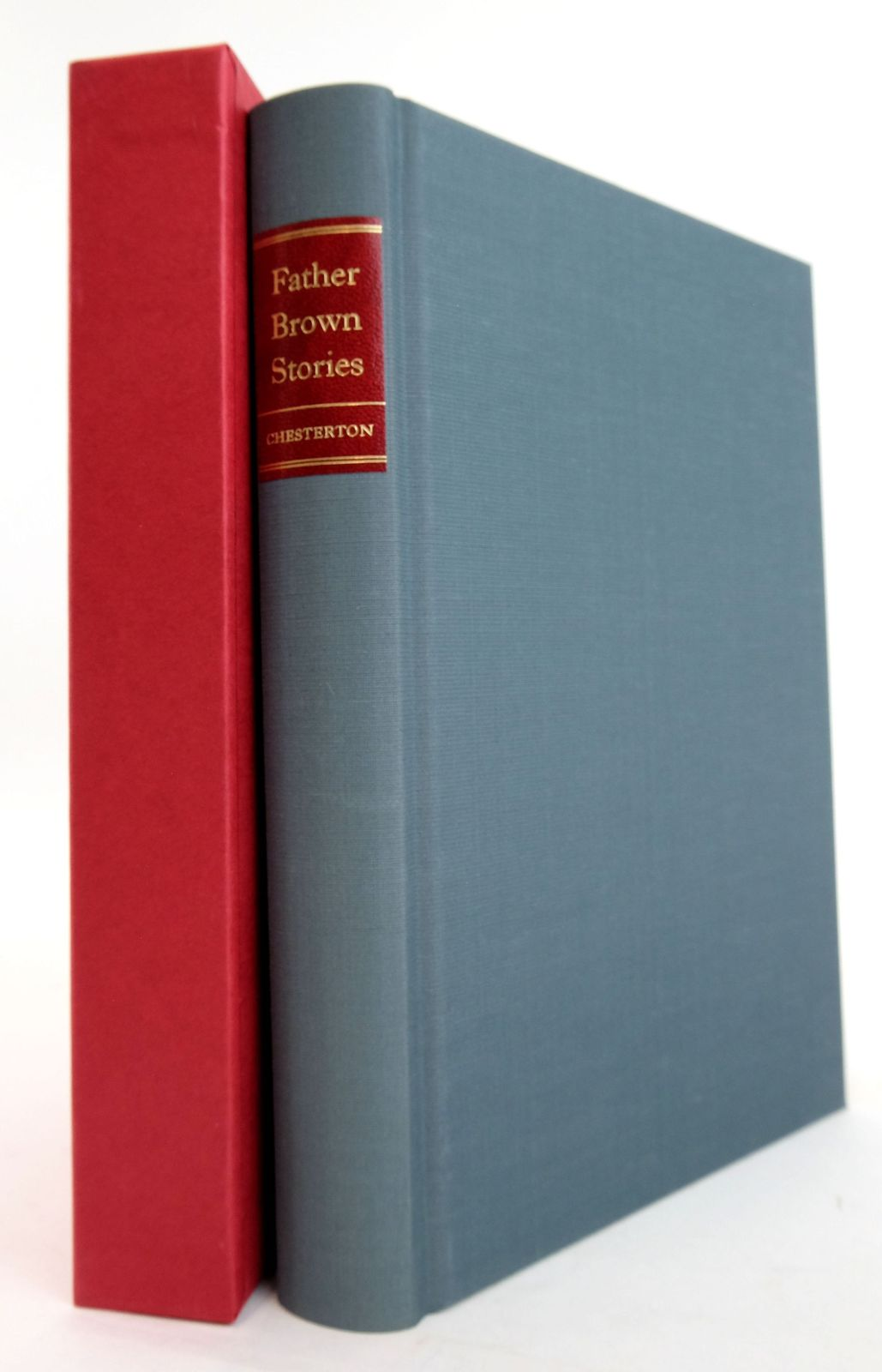 Photo of FATHER BROWN STORIES written by Chesterton, G.K. illustrated by Ardizzone, Edward published by Folio Society (STOCK CODE: 1820231)  for sale by Stella & Rose's Books