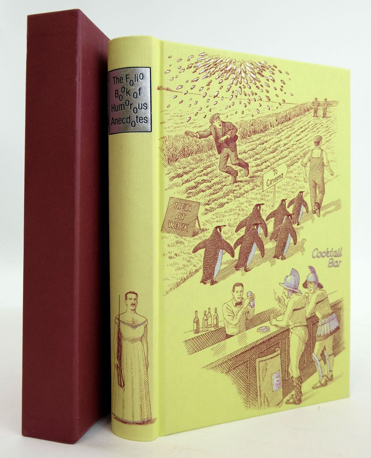 Photo of THE FOLIO BOOK OF HUMOROUS ANECDOTES- Stock Number: 1820235
