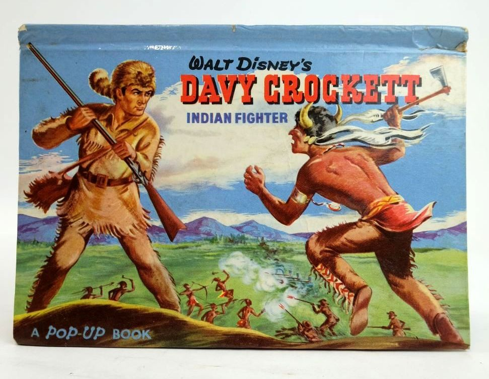 Photo of WALT DISNEY'S DAVY CROCKETT: INDIAN FIGHTER A POP-UP BOOK- Stock Number: 1820273