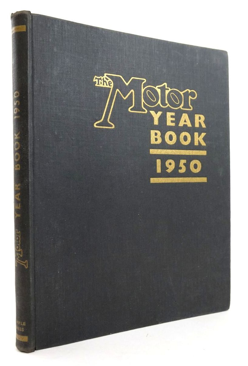 Photo of THE MOTOR YEAR BOOK 1950- Stock Number: 1820276