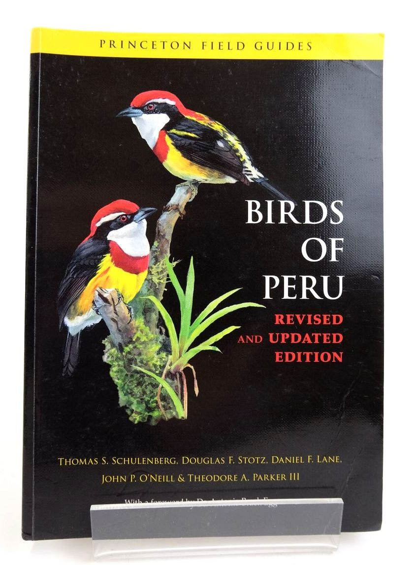 Photo of BIRDS OF PERU (PRINCETON FIELD GUIDES)- Stock Number: 1820286