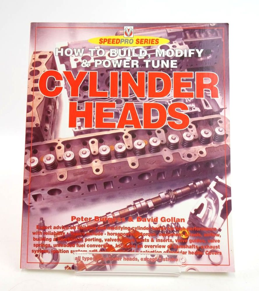 Photo of HOW TO BUILD, MODIFY & POWER TUNE CYLINDER HEADS (SPEEDPRO SERIES)- Stock Number: 1820304