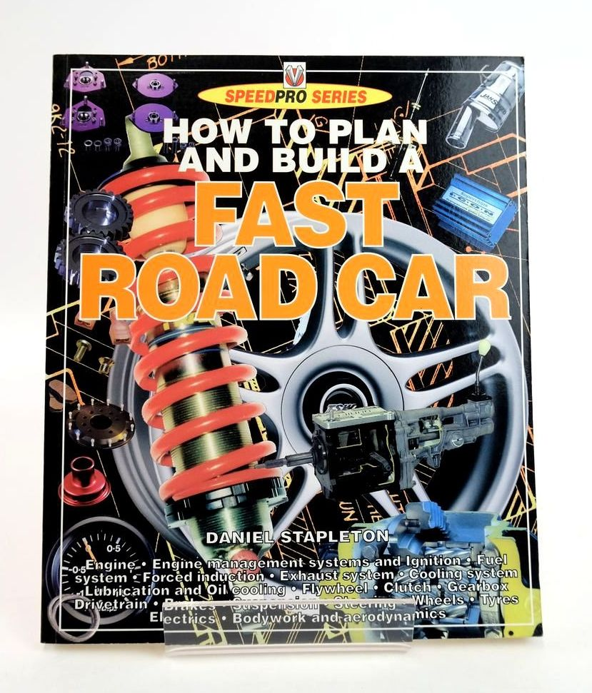 Photo of HOW TO PLAN AND BUILD A FAST ROAD CAR (SPEEDPRO SERIES)- Stock Number: 1820306
