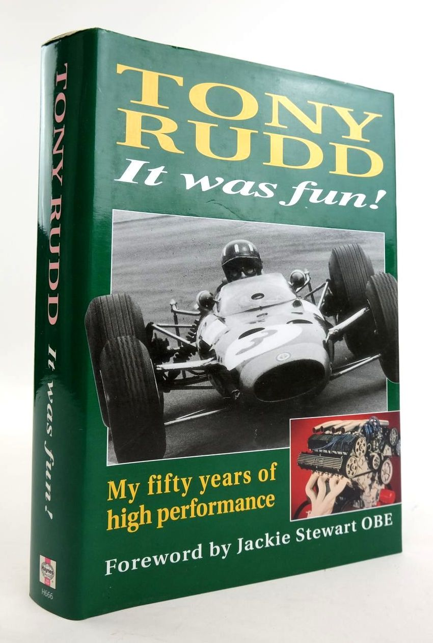 Photo of IT WAS FUN! MY FIFTY YEARS OF HIGH PERFORMANCE written by Rudd, Tony published by Haynes Publishing (STOCK CODE: 1820312)  for sale by Stella & Rose's Books