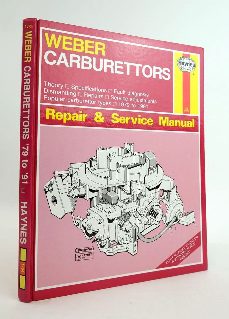 Photo of WEBER CARBURETTORS MANUAL- Stock Number: 1820314